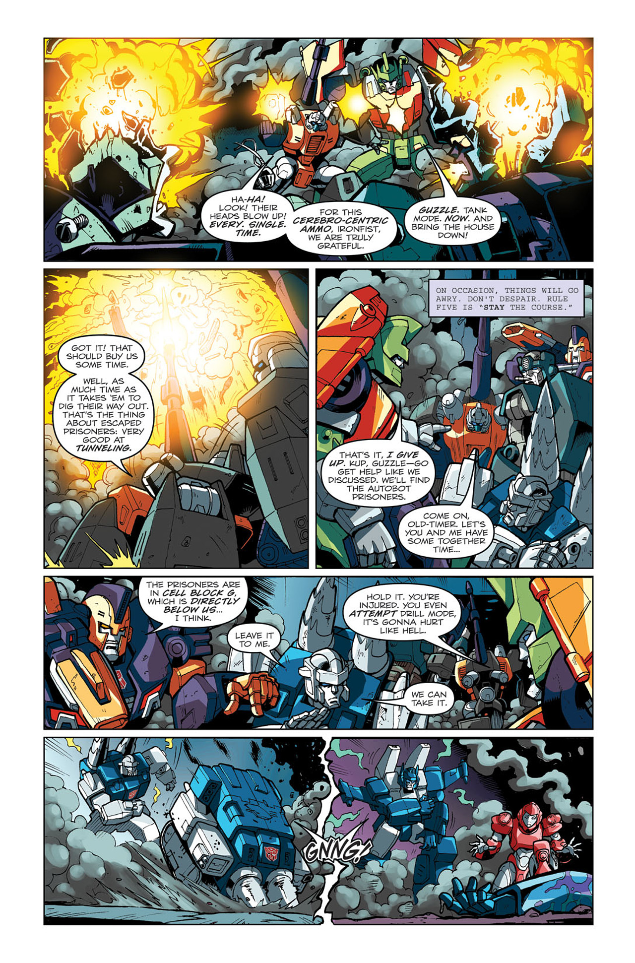 Read online Transformers: Last Stand of The Wreckers comic -  Issue #3 - 11