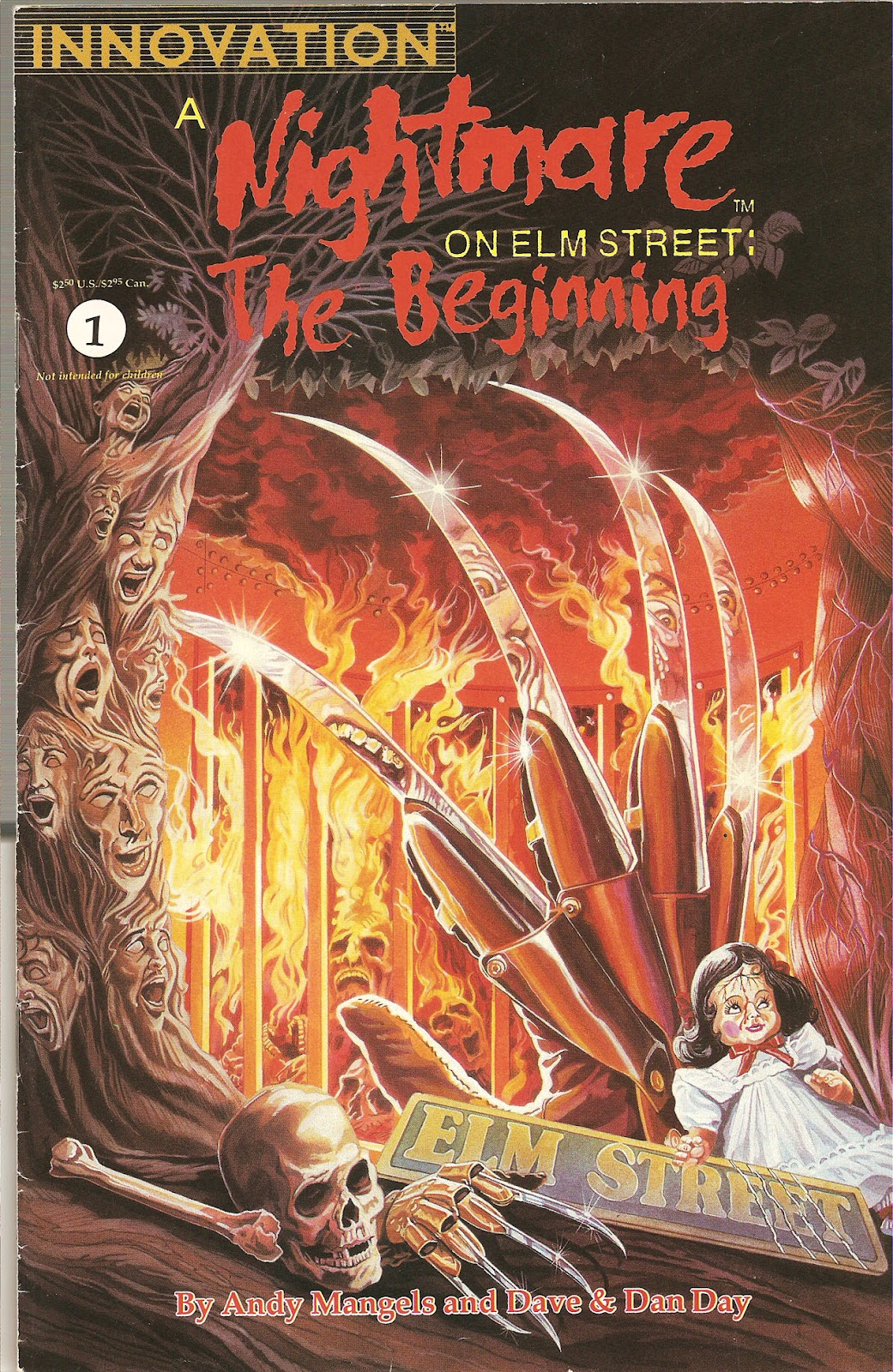 Read online A Nightmare on Elm Street: The Beginning comic -  Issue #1 - 1