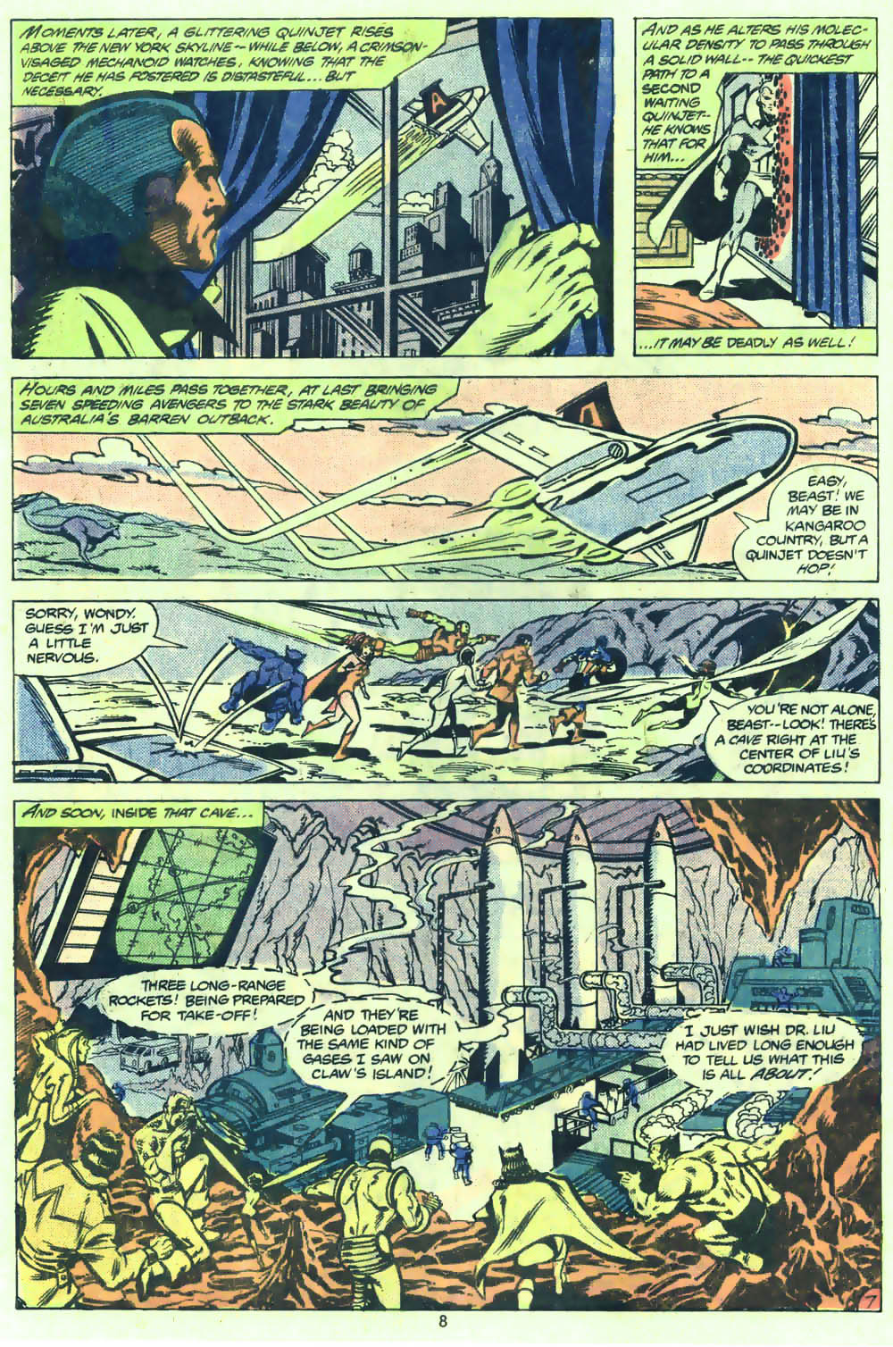 The Avengers (1963) 205 Page 7