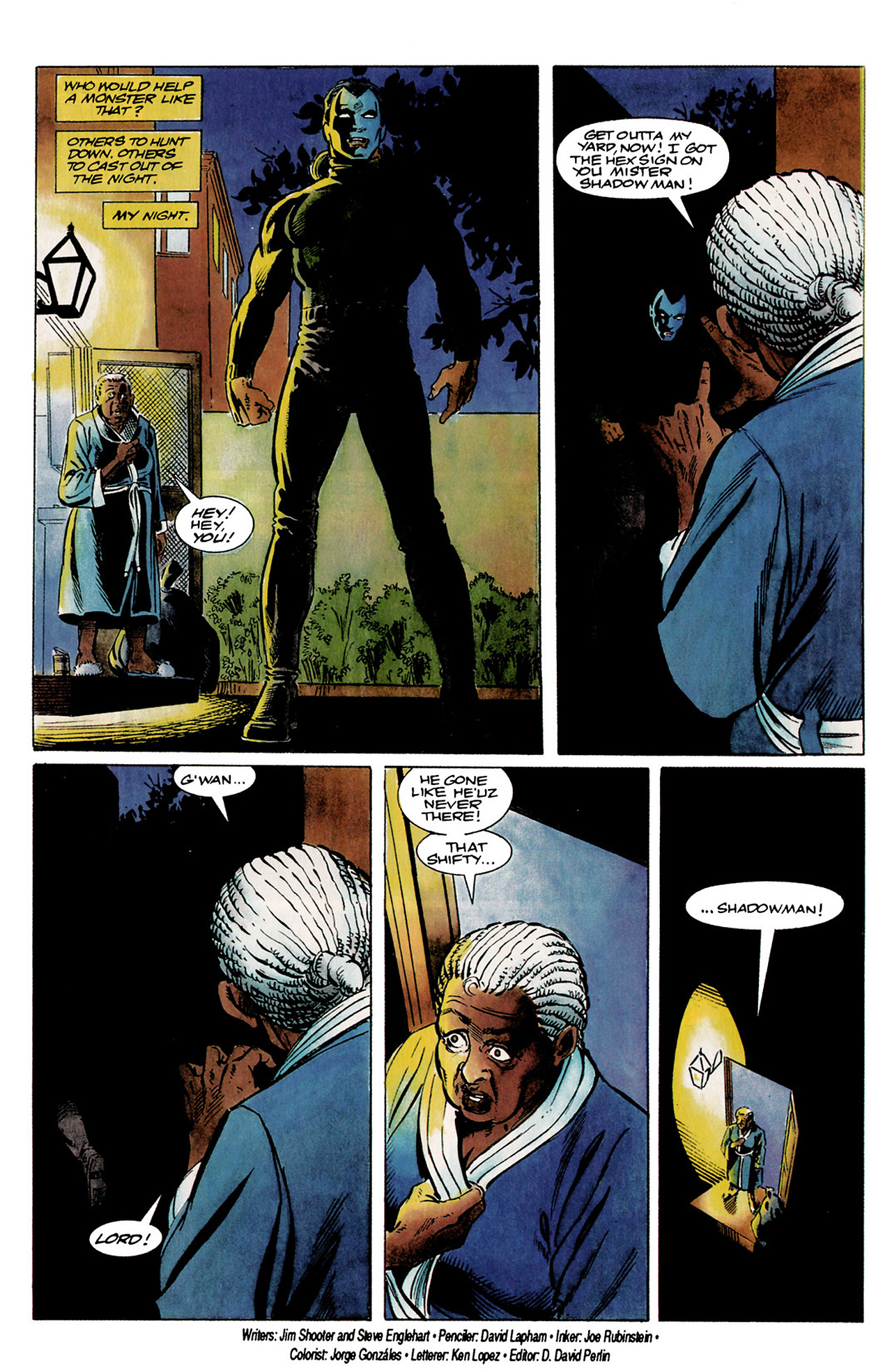 Read online Shadowman (1992) comic -  Issue #1 - 22