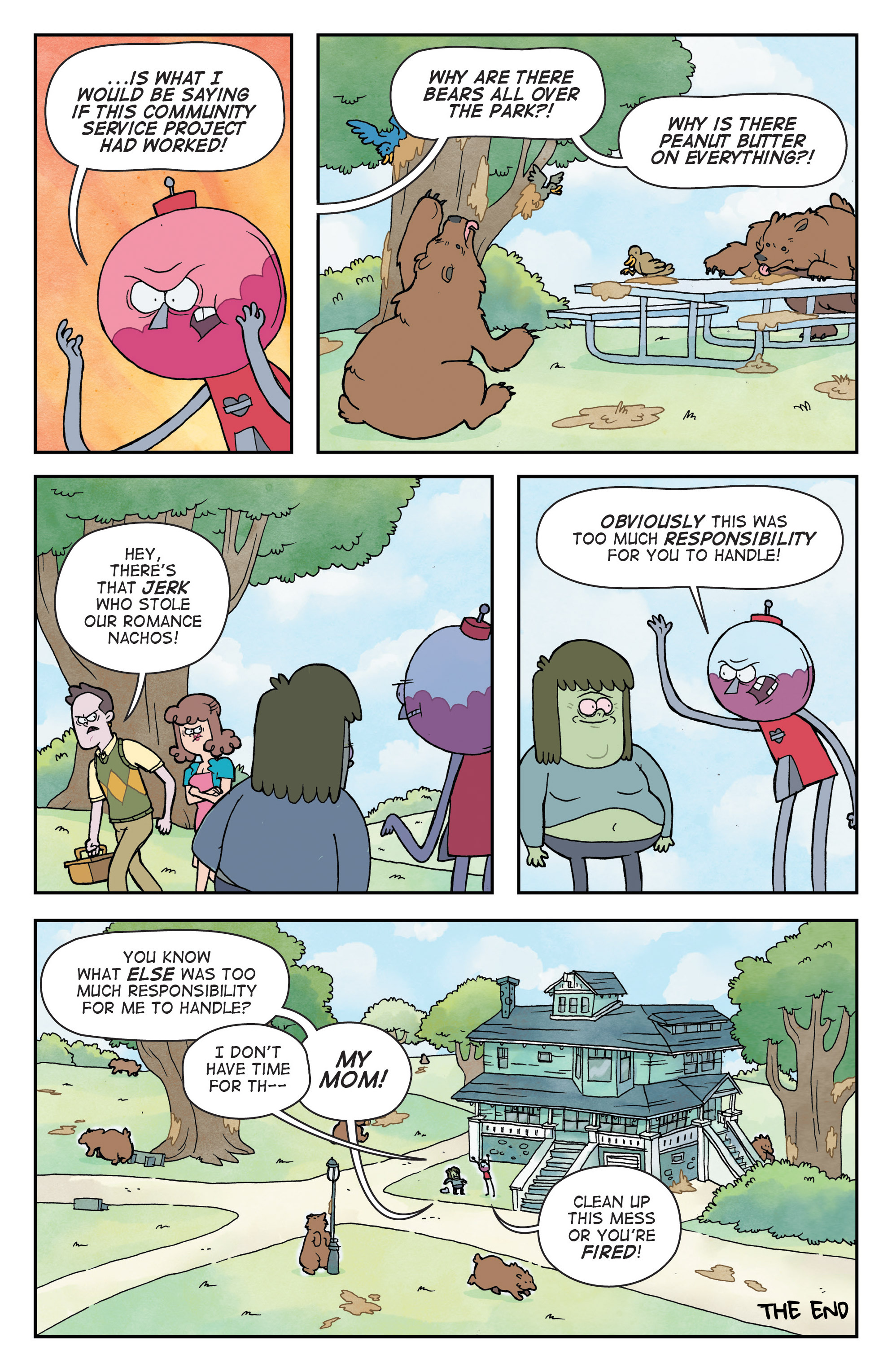 Read online Regular Show comic -  Issue # _Annual 1 - 29