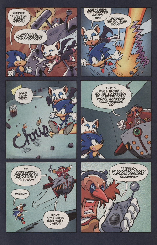 Read online Sonic X comic -  Issue #4 - 11