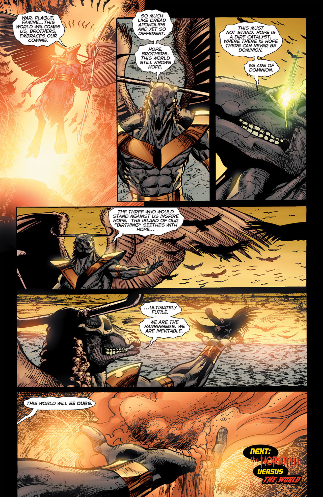 Read online 52 Aftermath: The Four Horsemen comic -  Issue #4 - 24