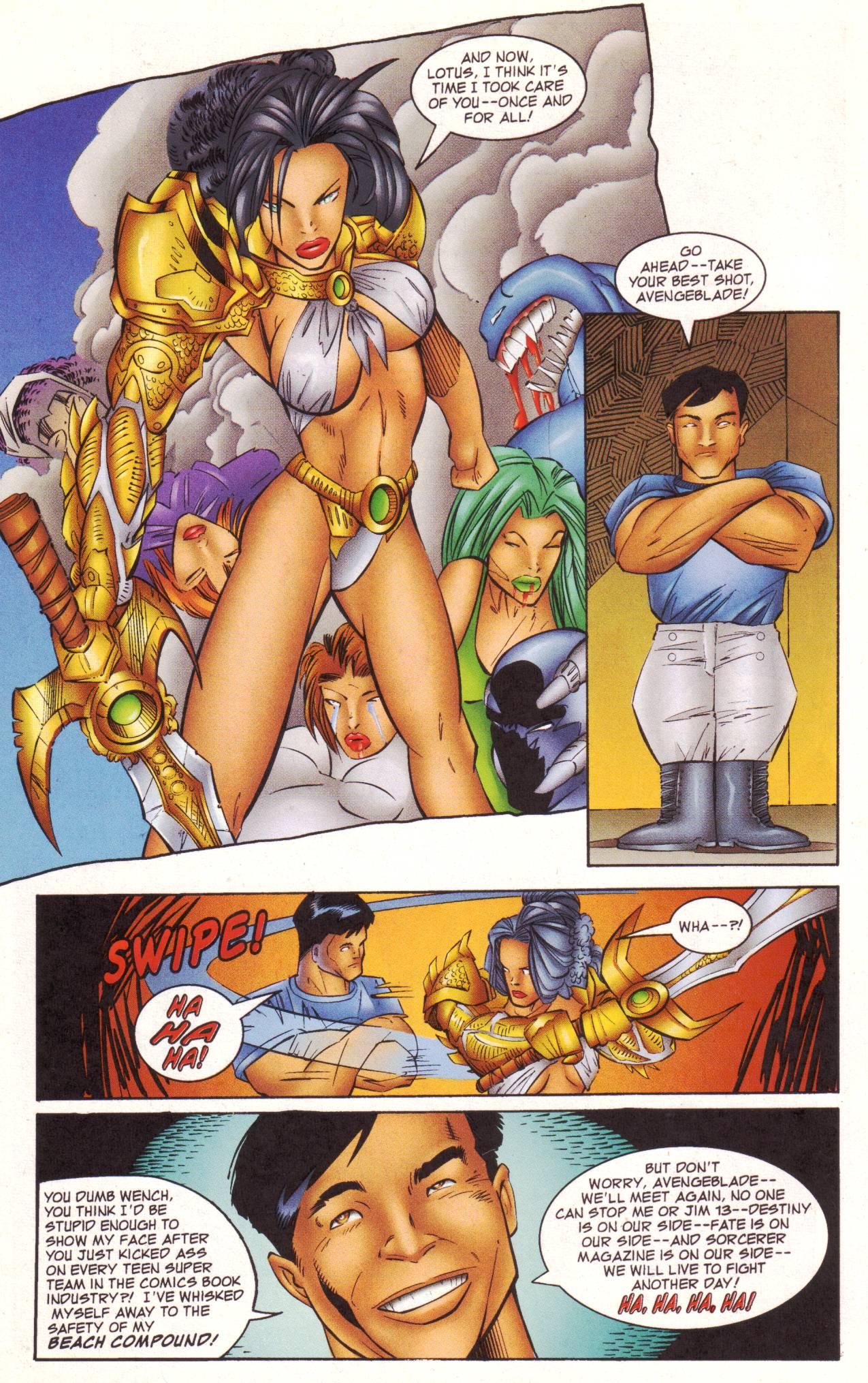 Read online Avengeblade comic -  Issue #2 - 22