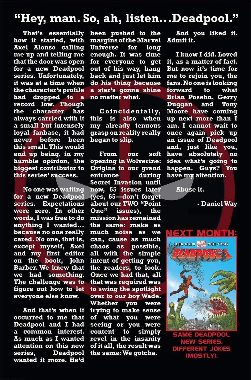 Read online Deadpool (2008) comic -  Issue #63 - 22