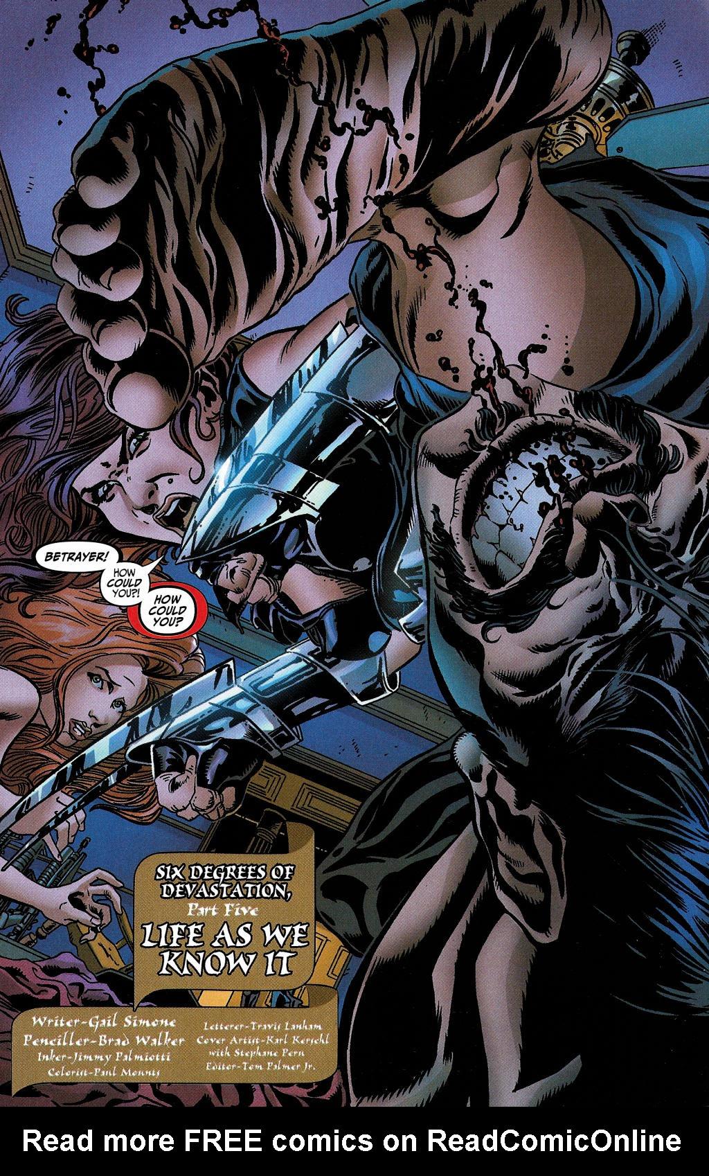 Read online Secret Six (2006) comic -  Issue #5 - 4