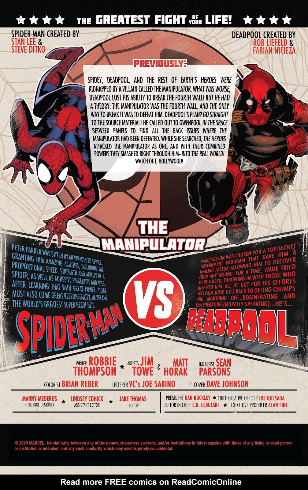 Read online Spider-Man/Deadpool comic -  Issue #50 - 2