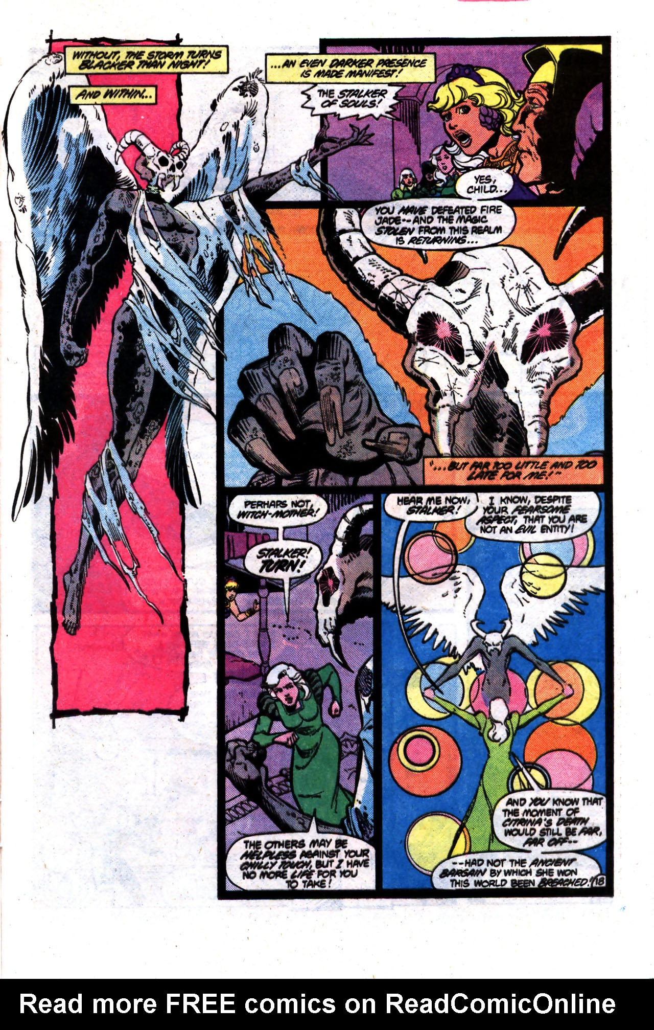 Read online Amethyst (1985) comic -  Issue #8 - 18