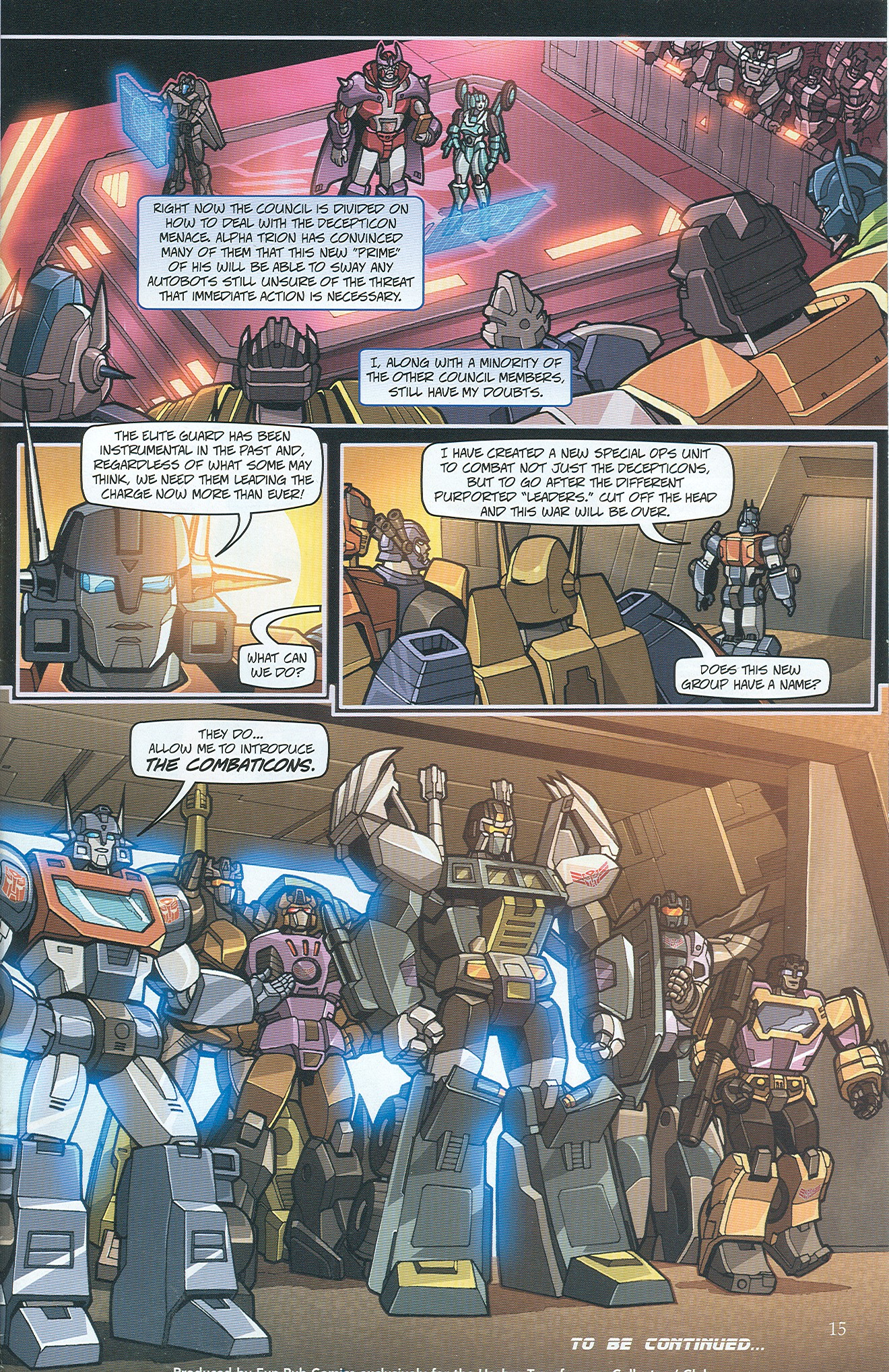 Read online Transformers: Collectors' Club comic -  Issue #32 - 15