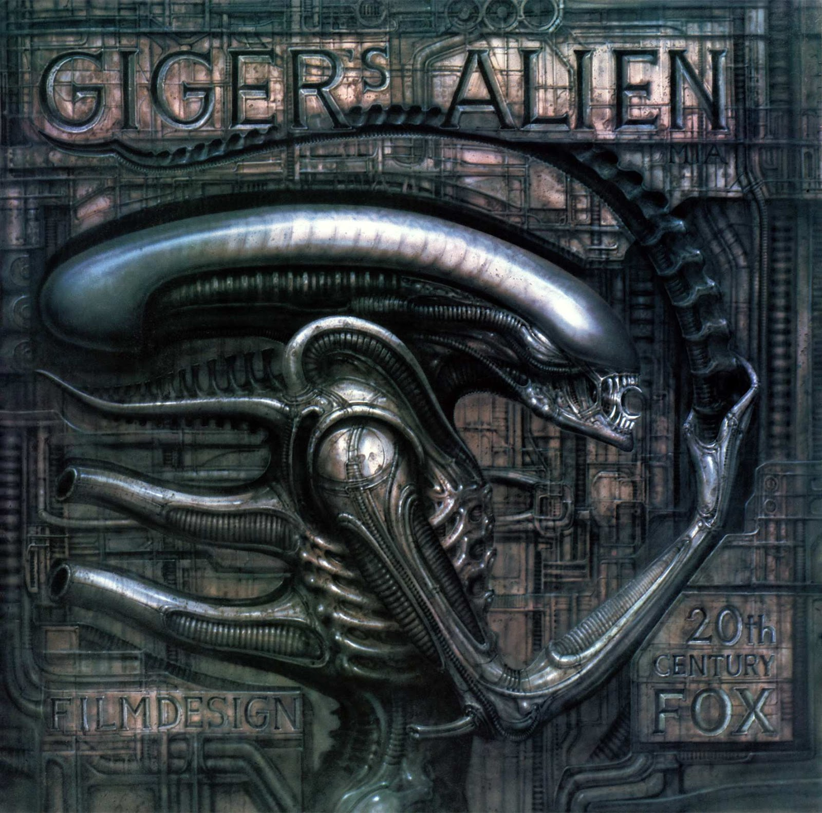 Read online Giger's Alien comic -  Issue # TPB - 1