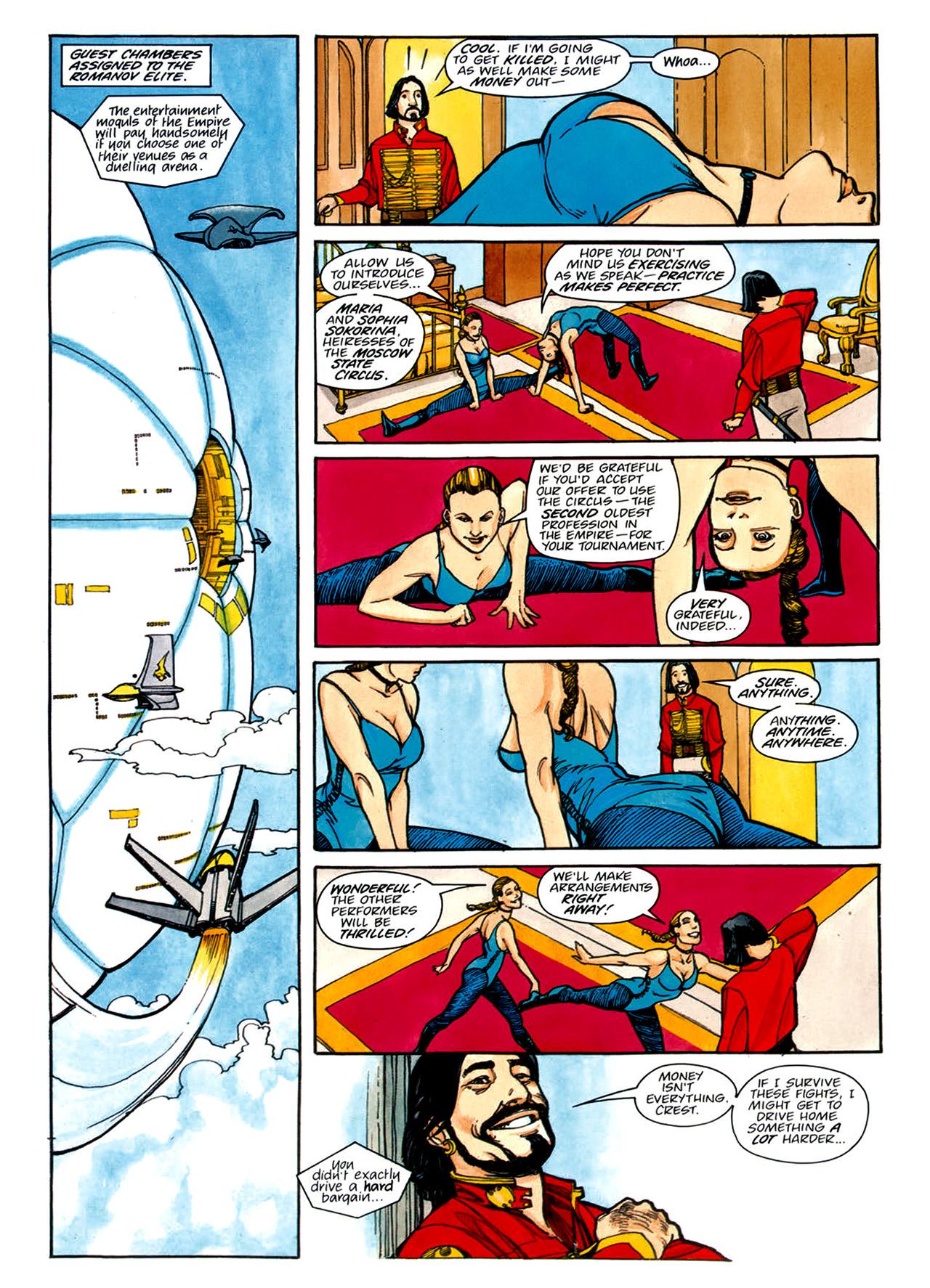 Read online Nikolai Dante comic -  Issue # TPB 1 - 142