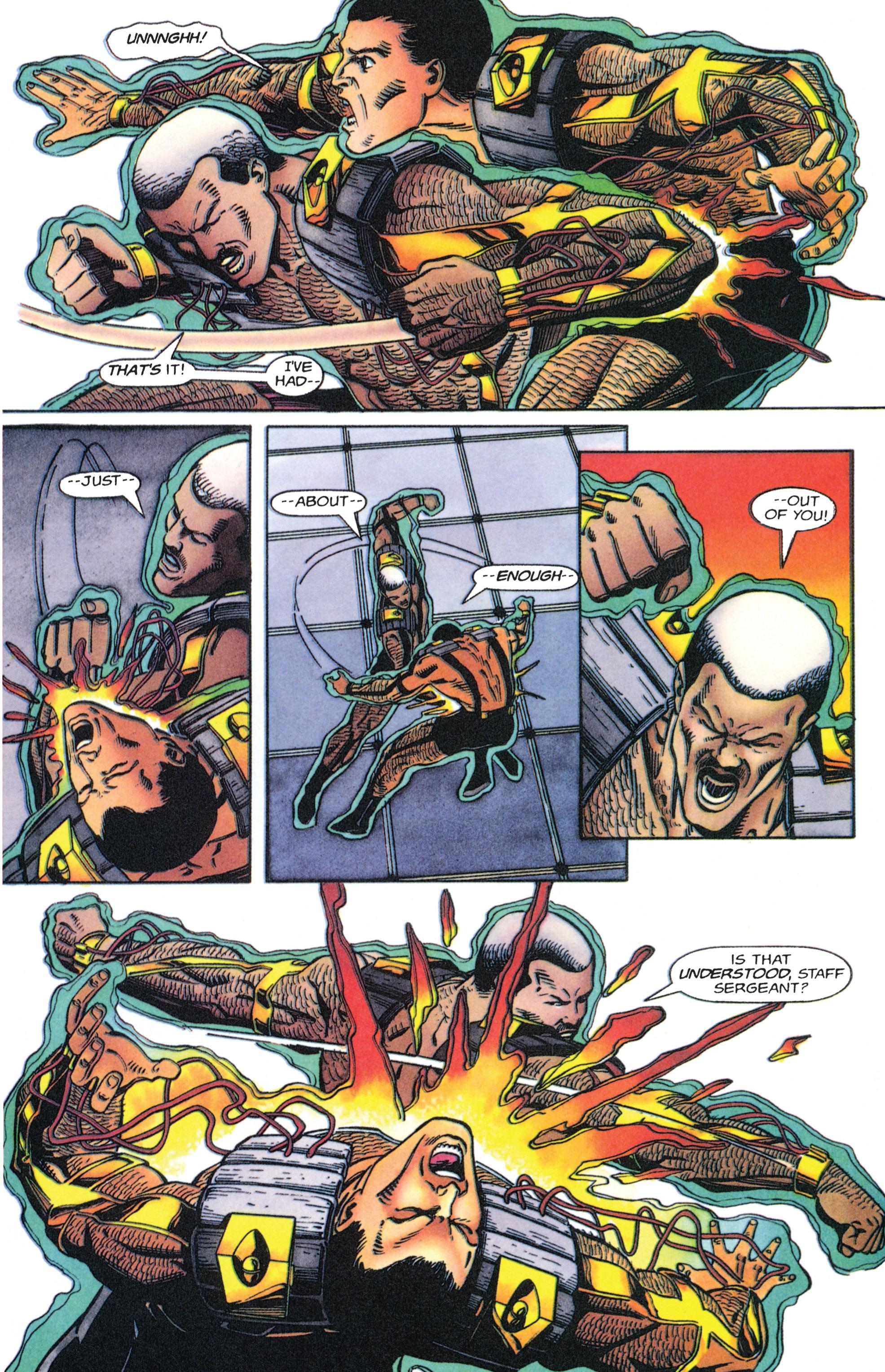 Read online Armorines comic -  Issue #4 - 5