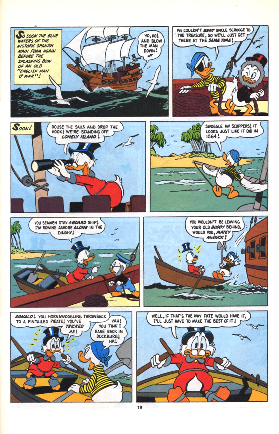 Read online Uncle Scrooge (1953) comic -  Issue #279 - 20