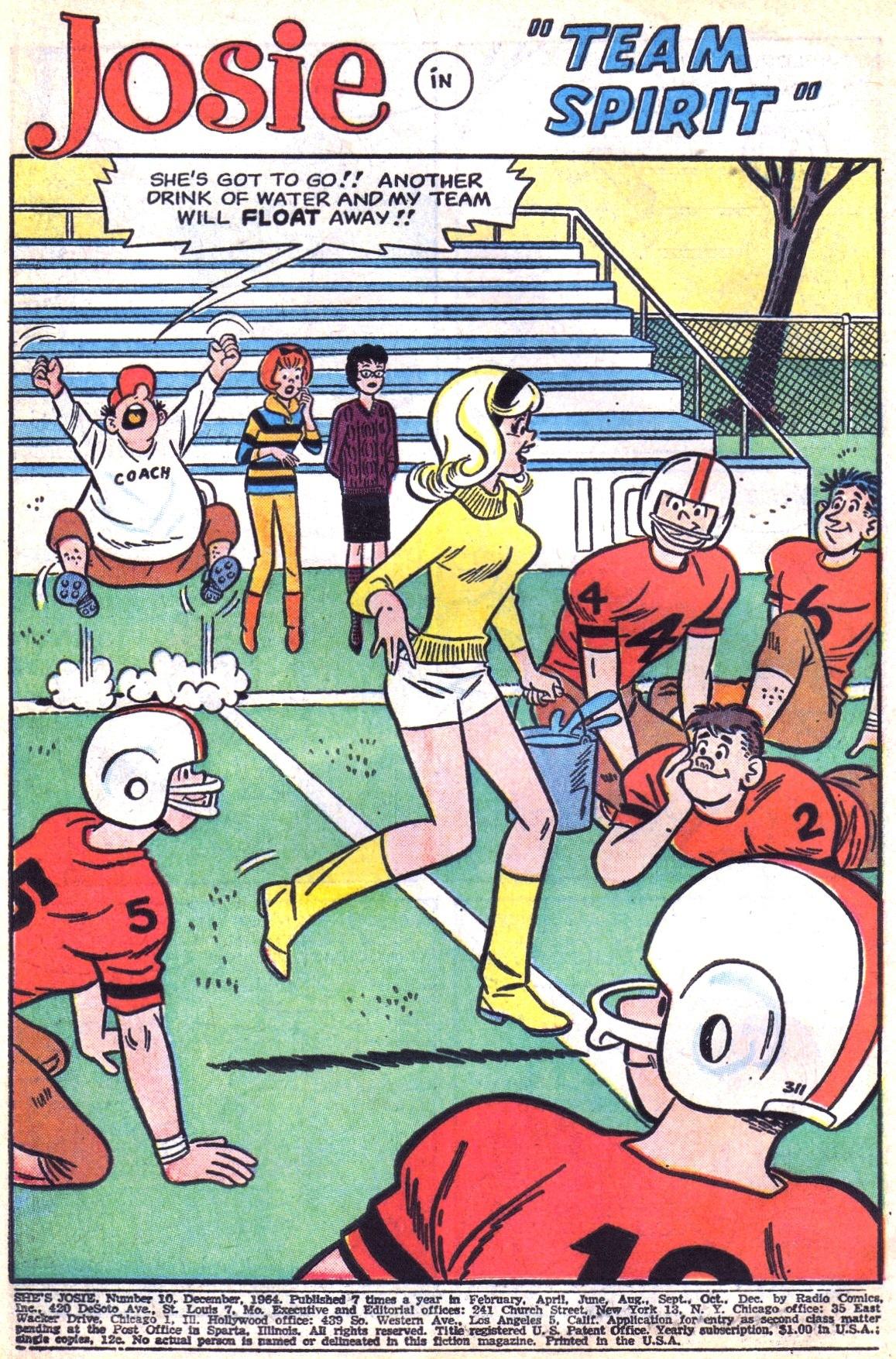 Read online She's Josie comic -  Issue #10 - 3