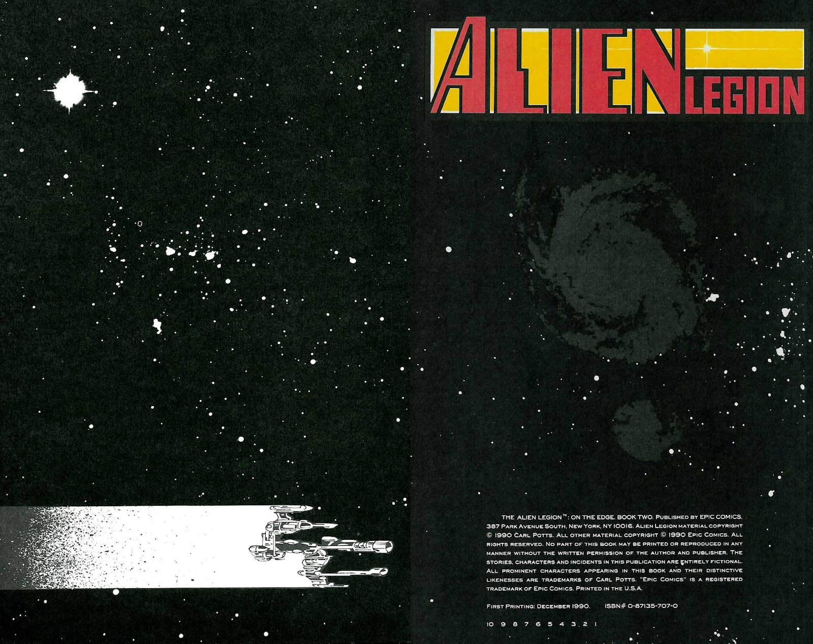 Alien Legion: On the Edge issue 2 - Page 2
