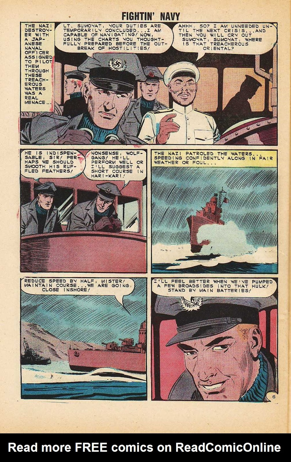 Read online Fightin' Navy comic -  Issue #116 - 32