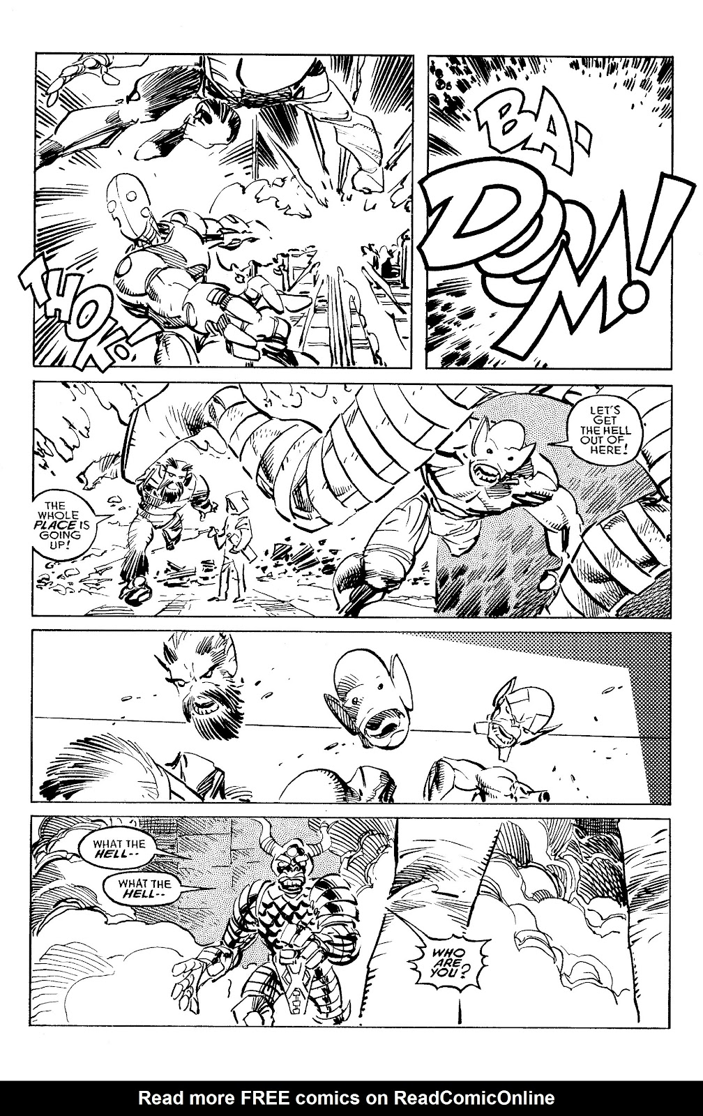 Read online Savage Dragon Archives comic -  Issue # TPB 6 (Part 4) - 22