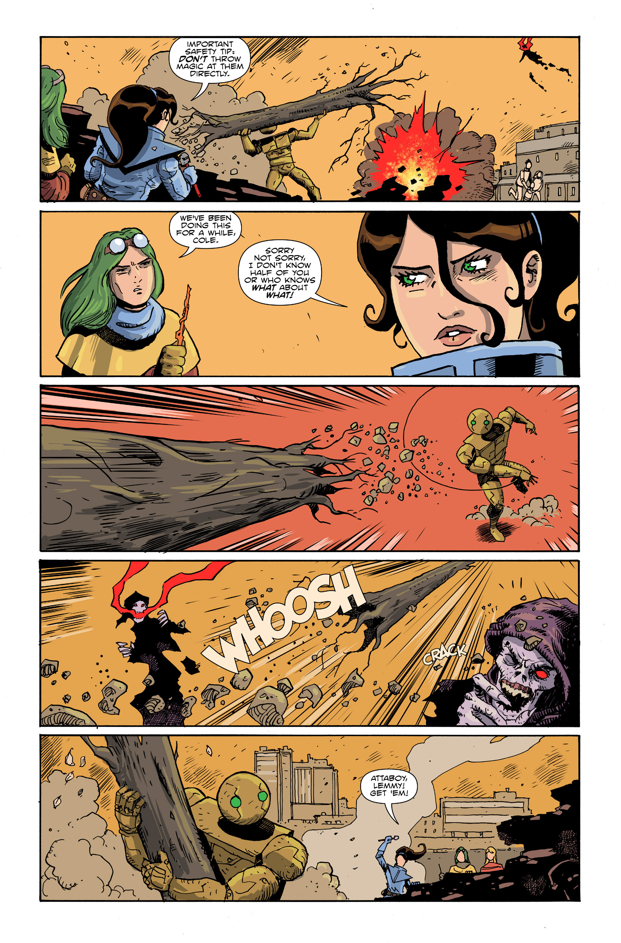 Read online Amelia Cole Versus The End of Everything comic -  Issue #26 - 4