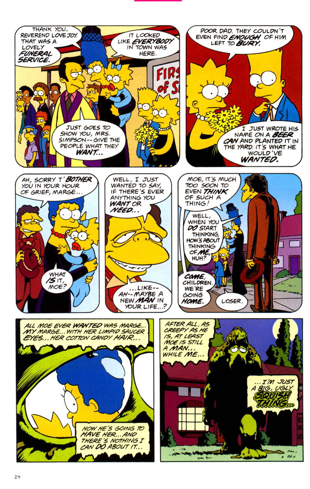 Read online Treehouse of Horror comic -  Issue #11 - 26