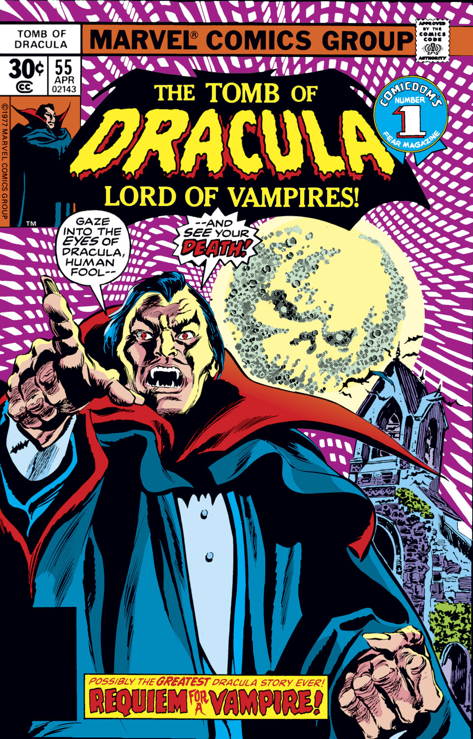 Tomb of Dracula (1972) issue 55 - Page 1