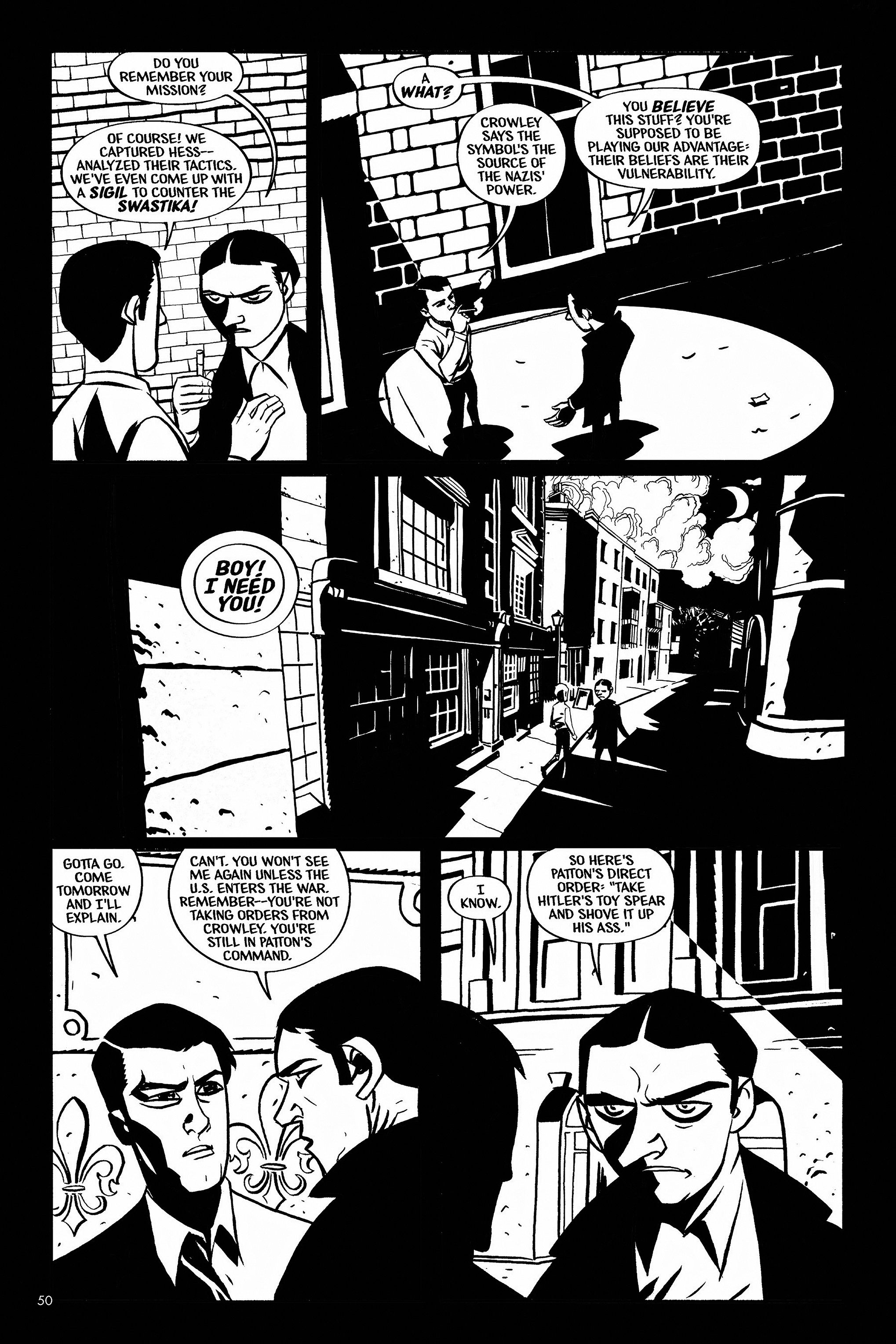 Read online Aleister & Adolf comic -  Issue # TPB - 49
