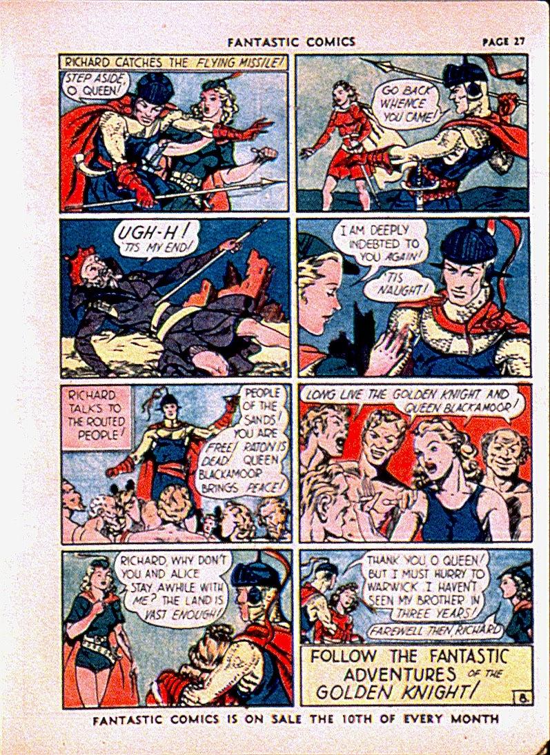 Read online Fantastic Comics comic -  Issue #13 - 30