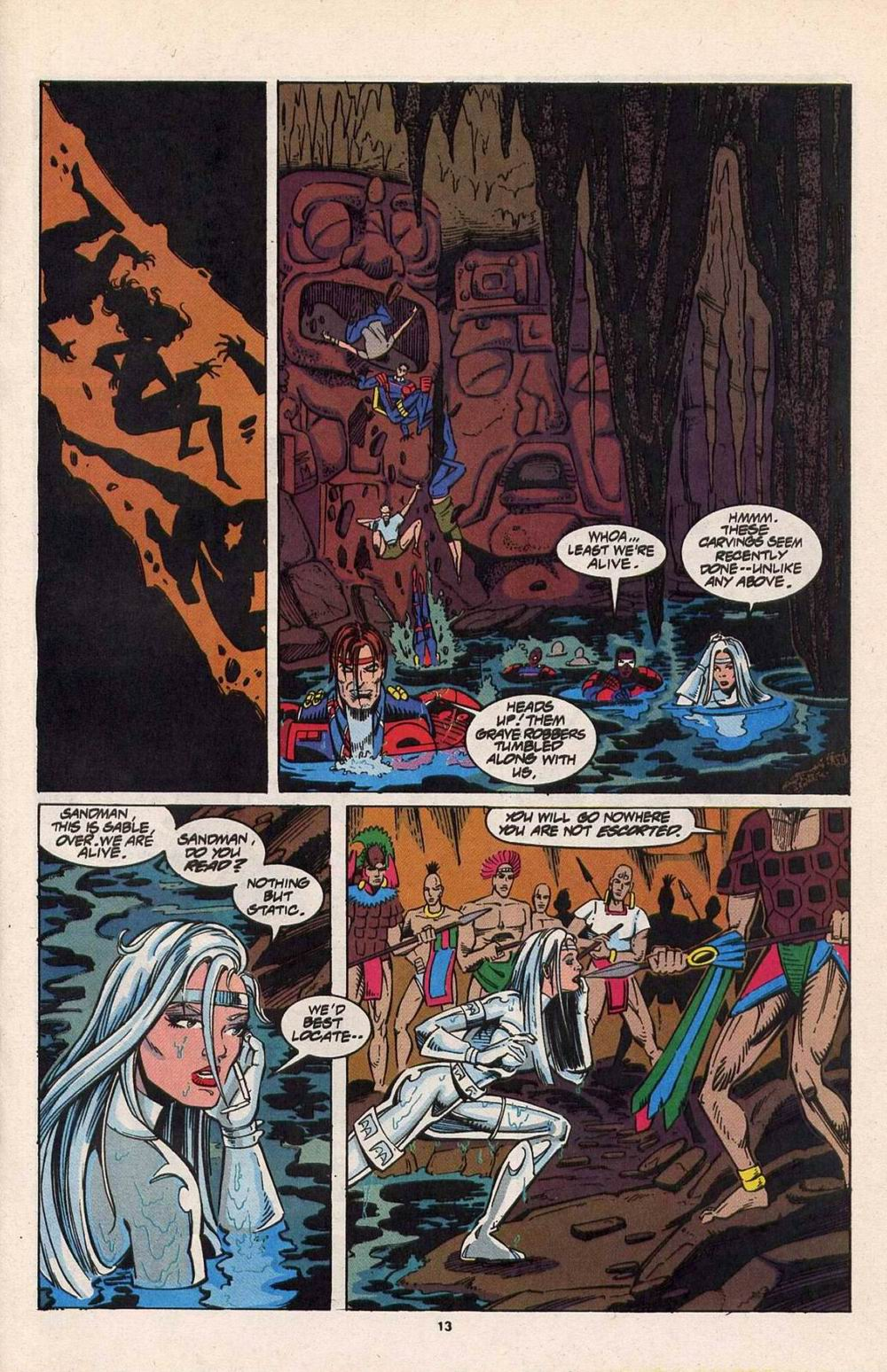 Read online Silver Sable and the Wild Pack comic -  Issue #29 - 10
