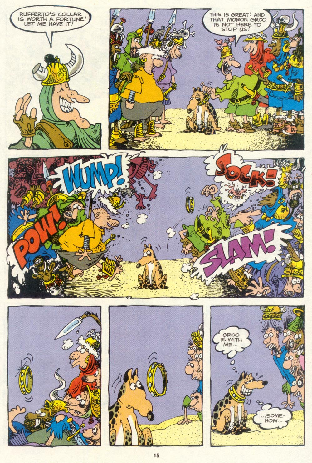 Read online Sergio Aragonés Groo the Wanderer comic -  Issue #85 - 12