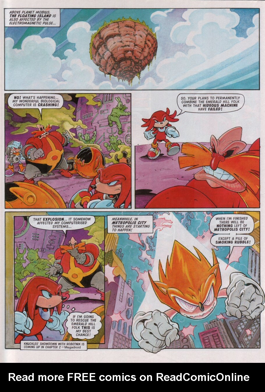 Read online Sonic the Comic comic -  Issue #100 - 6