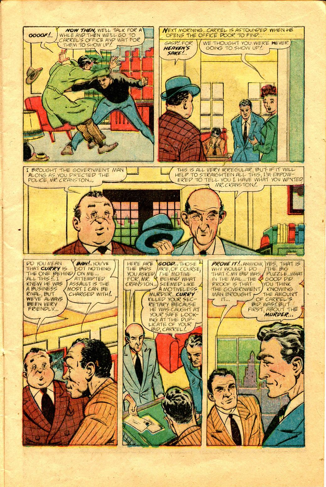 Read online Shadow Comics comic -  Issue #100 - 13