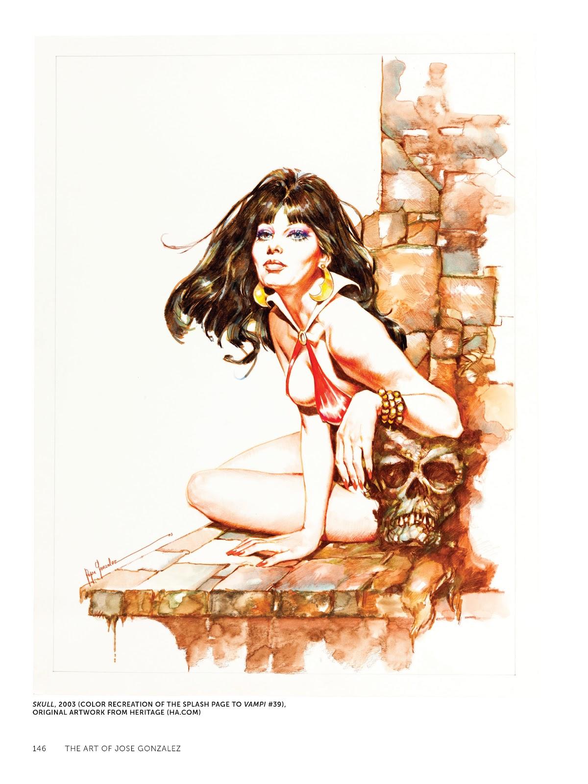 Read online The Art of Jose Gonzalez comic -  Issue # TPB (Part 2) - 48