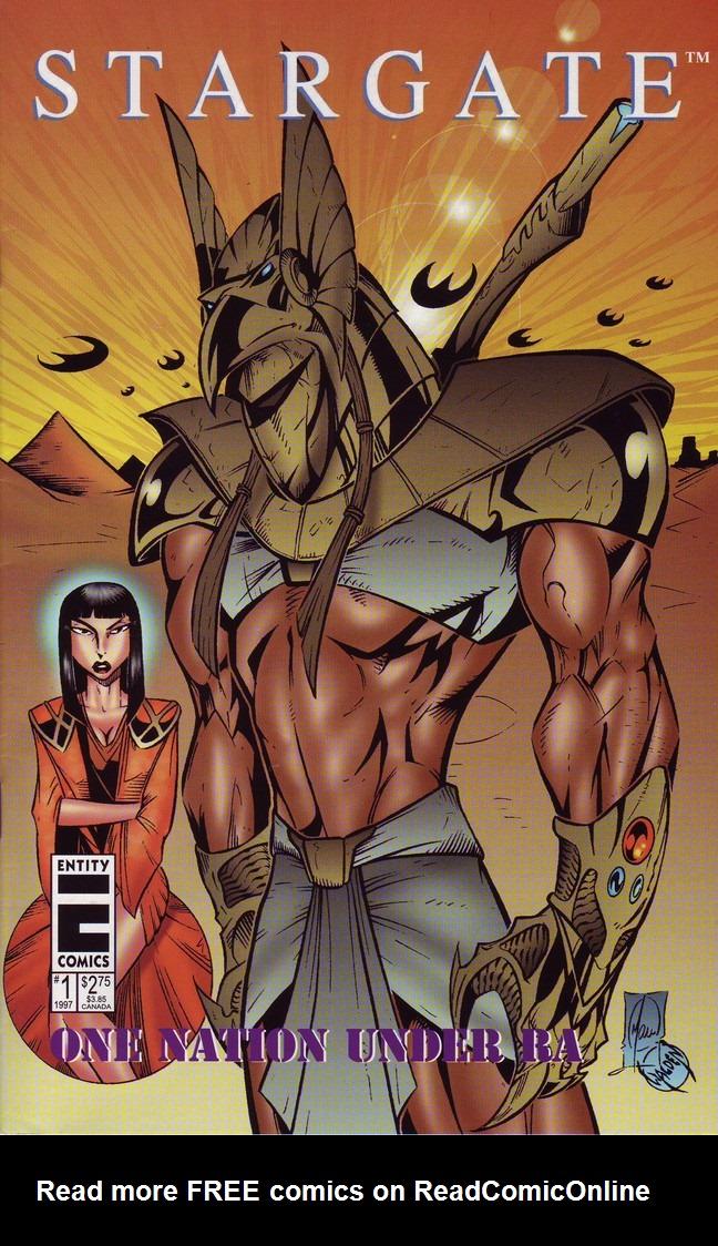 Read online Stargate: One Nation Under Ra comic -  Issue # Full - 1