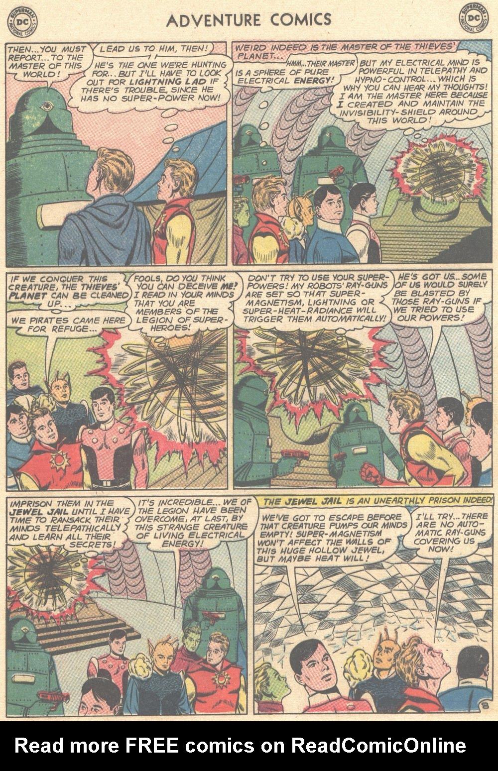 Read online Adventure Comics (1938) comic -  Issue #308 - 25