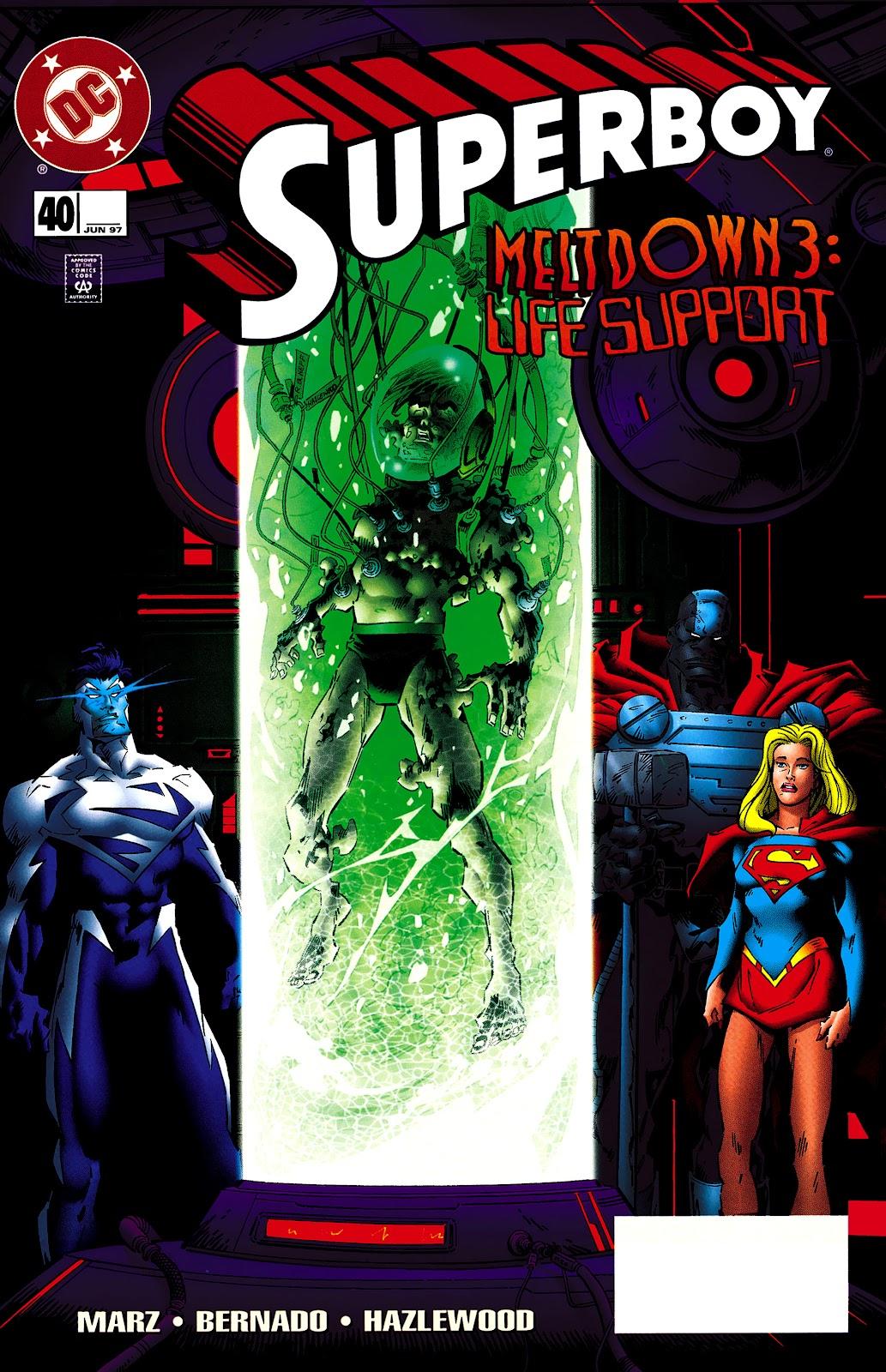 Superboy (1994) 40 Page 1