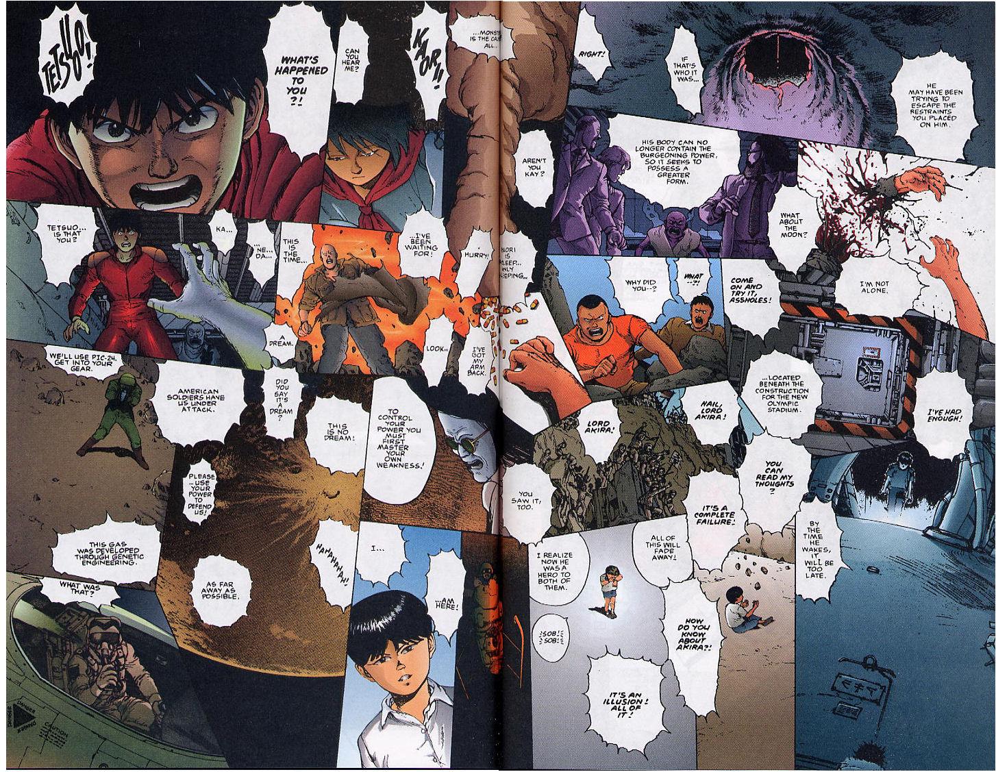 Read online Akira comic -  Issue #36 - 51