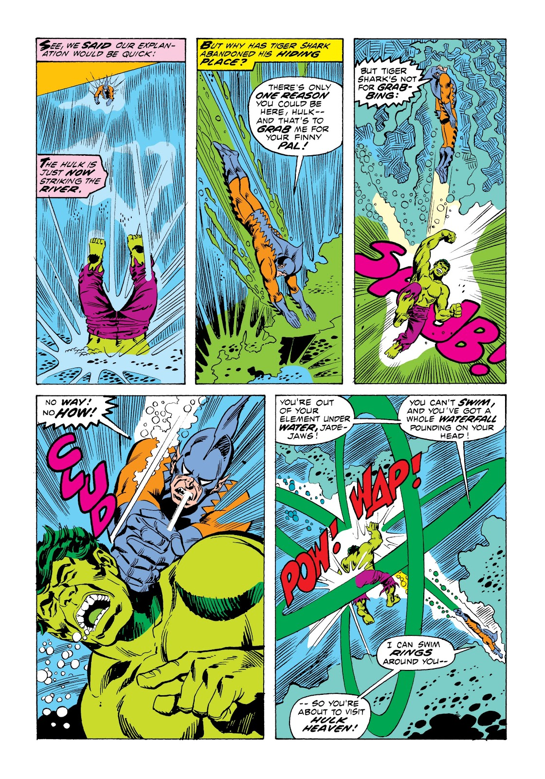 Read online Marvel Masterworks: The Incredible Hulk comic -  Issue # TPB 9 (Part 1) - 84