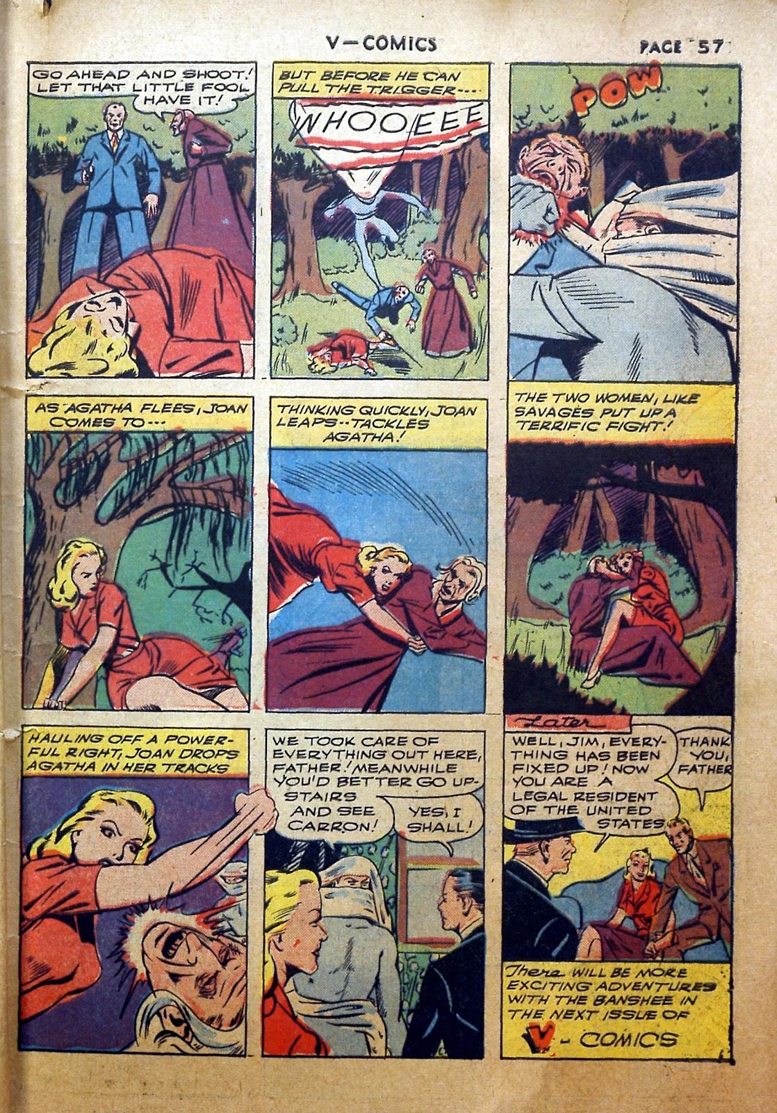 Read online V...- Comics comic -  Issue #2 - 58