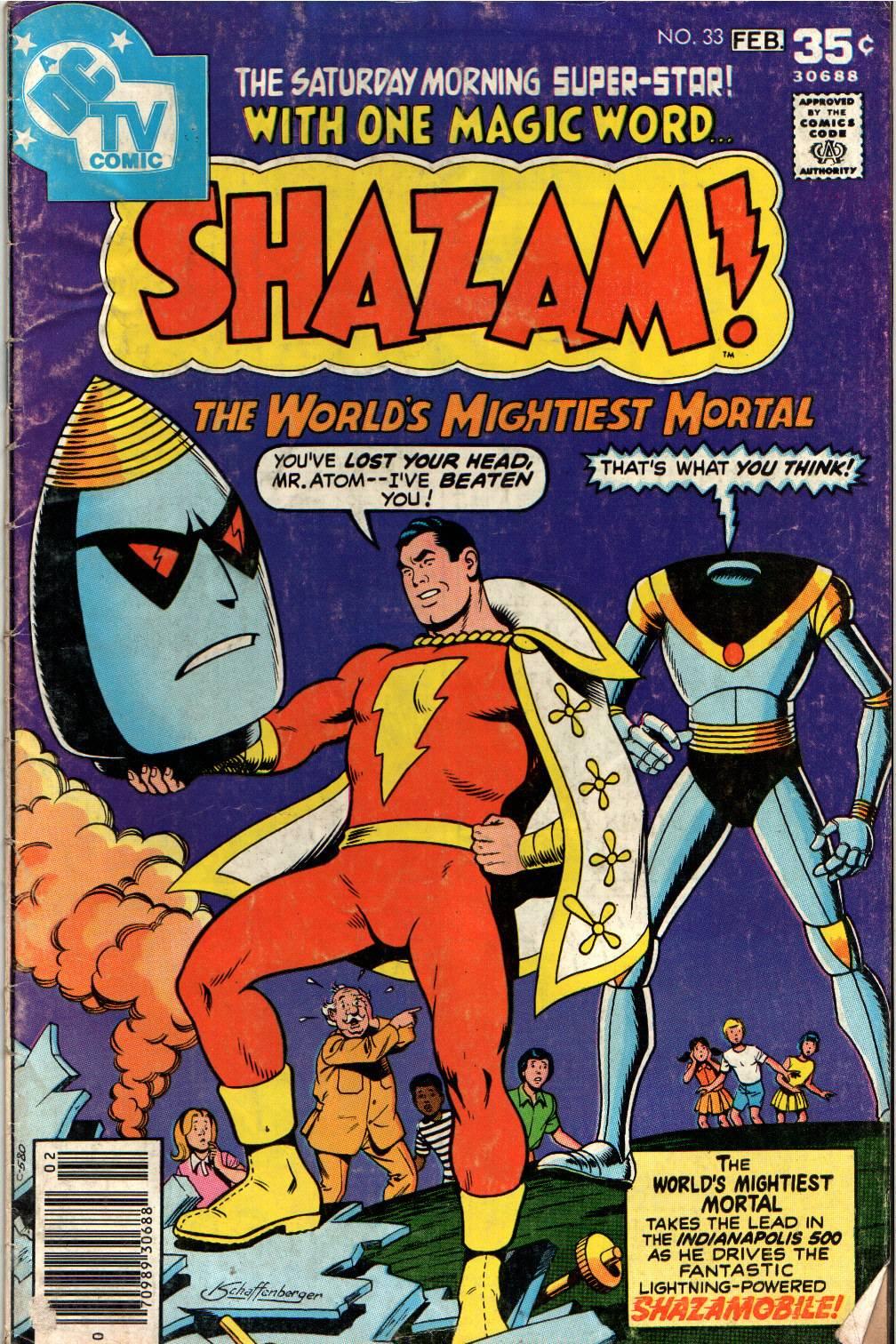 Read online Shazam! (1973) comic -  Issue #33 - 1