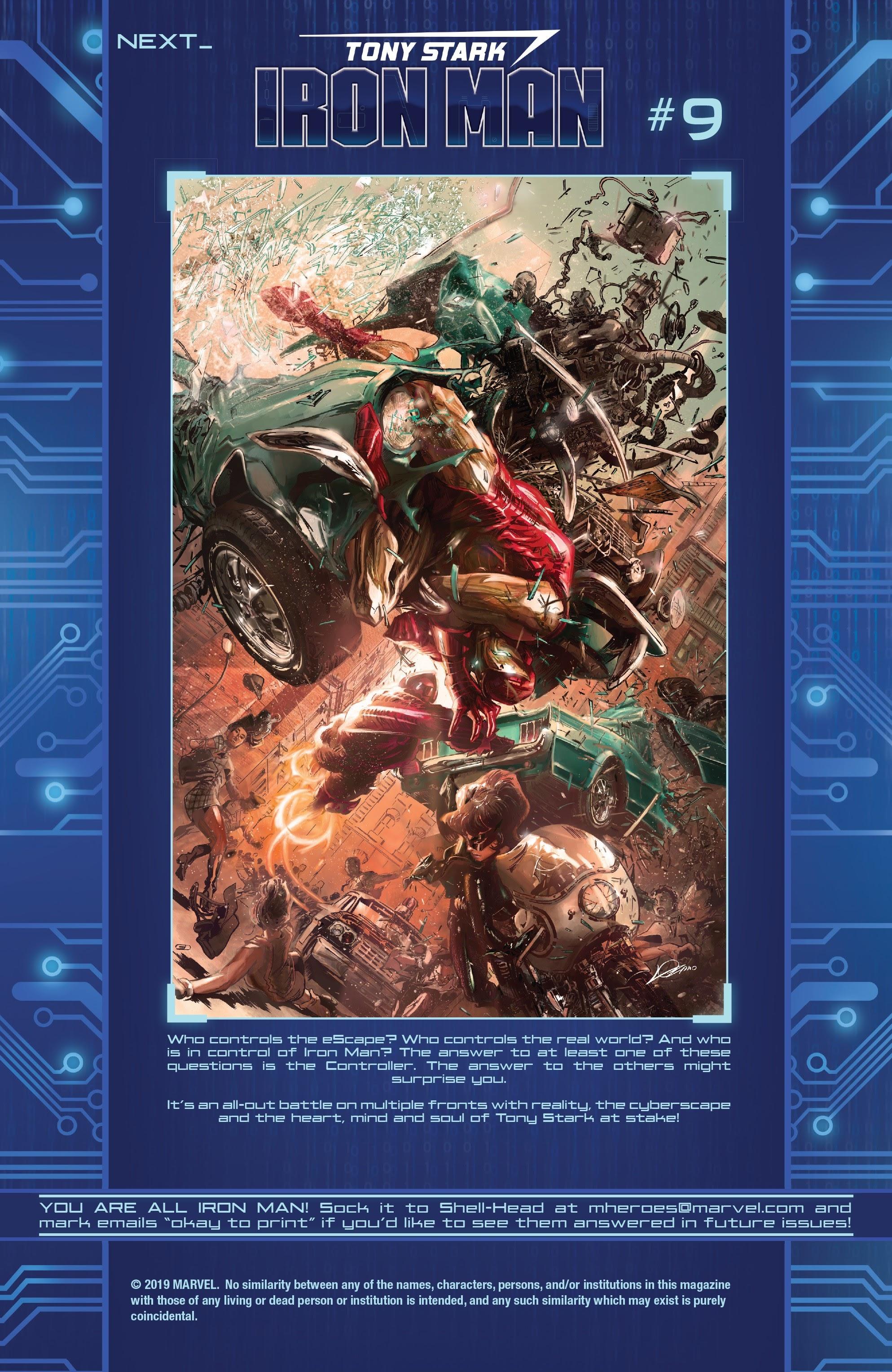 Read online Tony Stark: Iron Man comic -  Issue #8 - 22