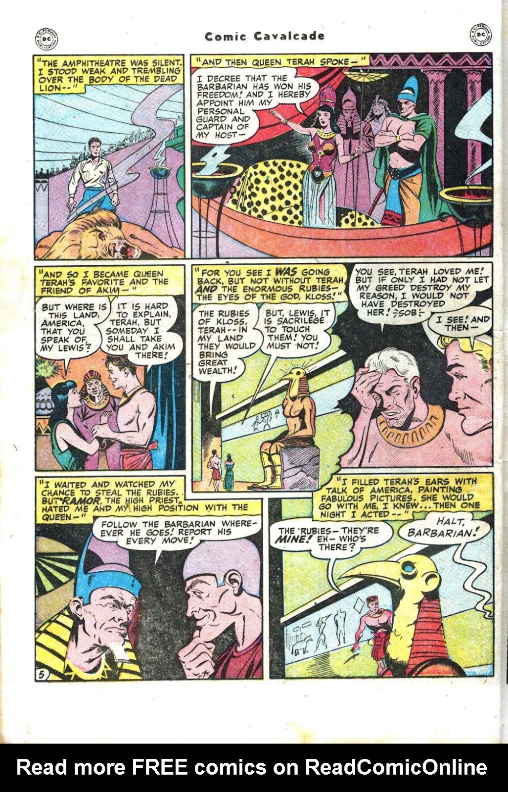 Comic Cavalcade issue 26 - Page 22