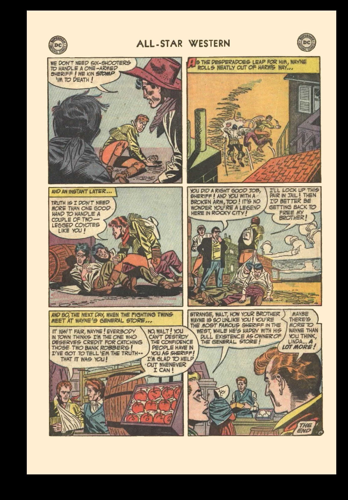 Read online All-Star Western (1951) comic -  Issue #72 - 33
