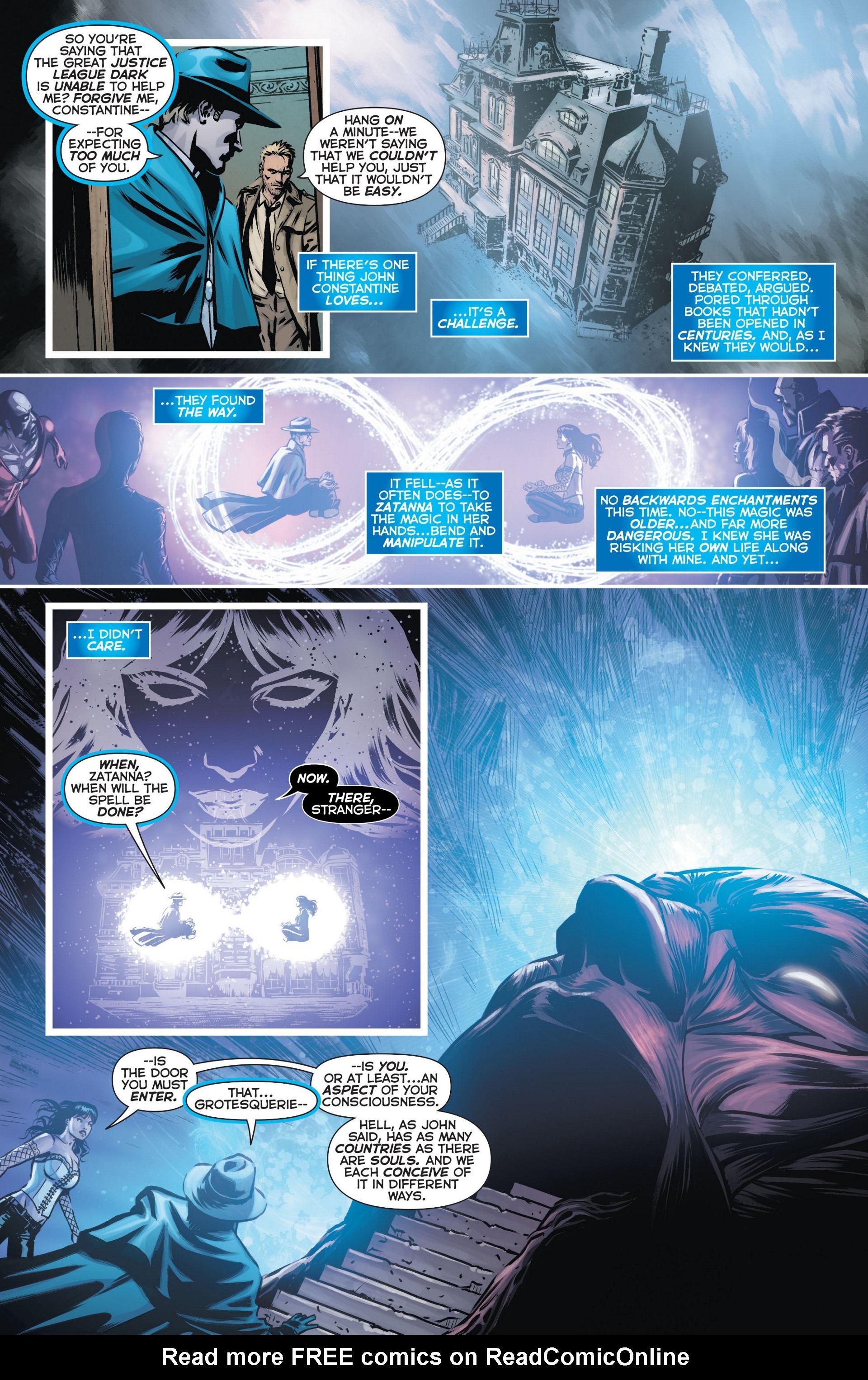 Read online Trinity of Sin: The Phantom Stranger comic -  Issue #9 - 7