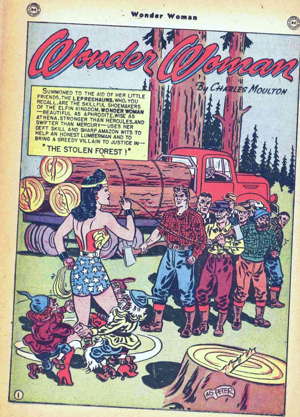 Read online Wonder Woman (1942) comic -  Issue #35 - 38