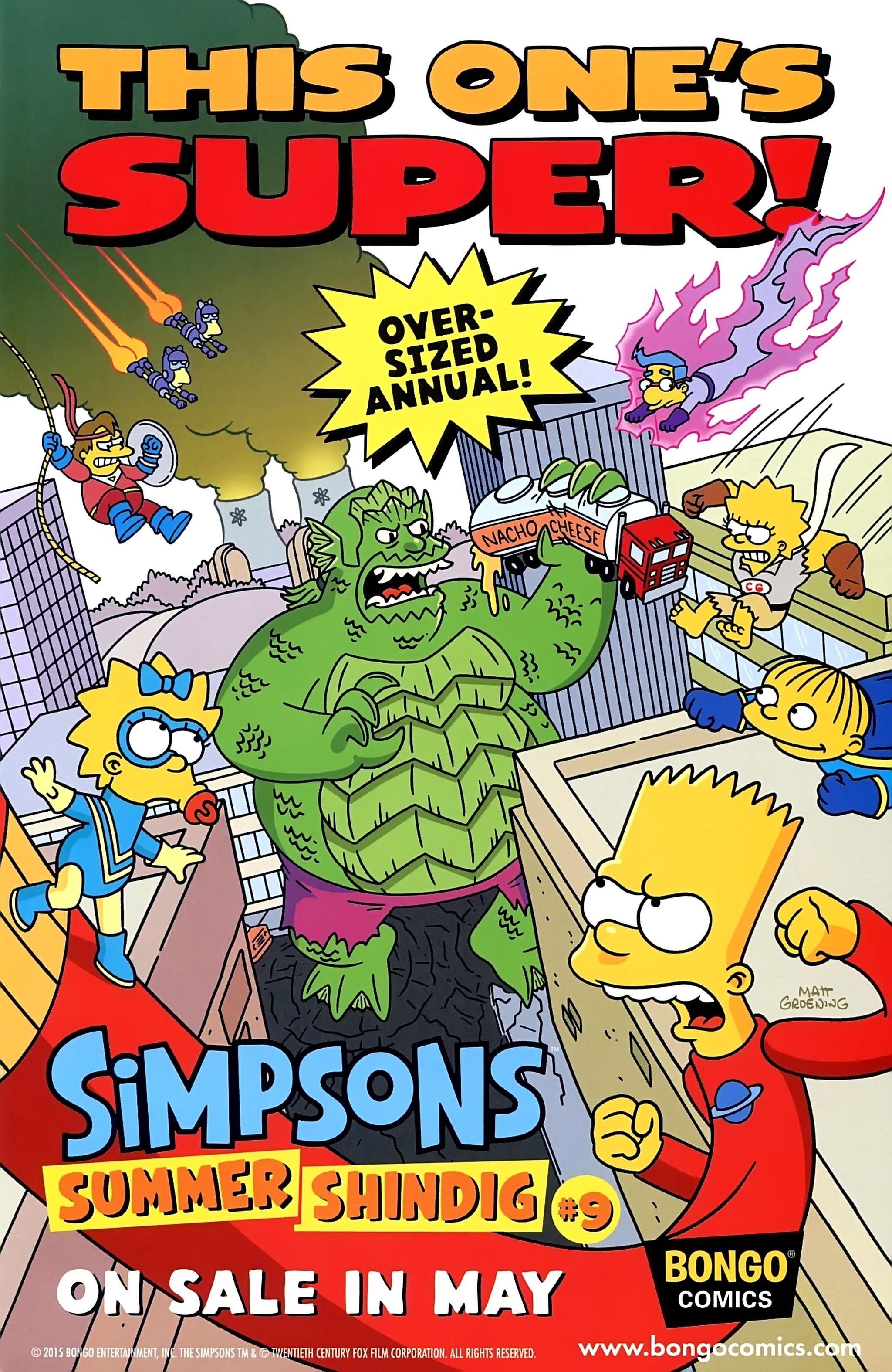 Read online Simpsons Comics comic -  Issue #220 - 14