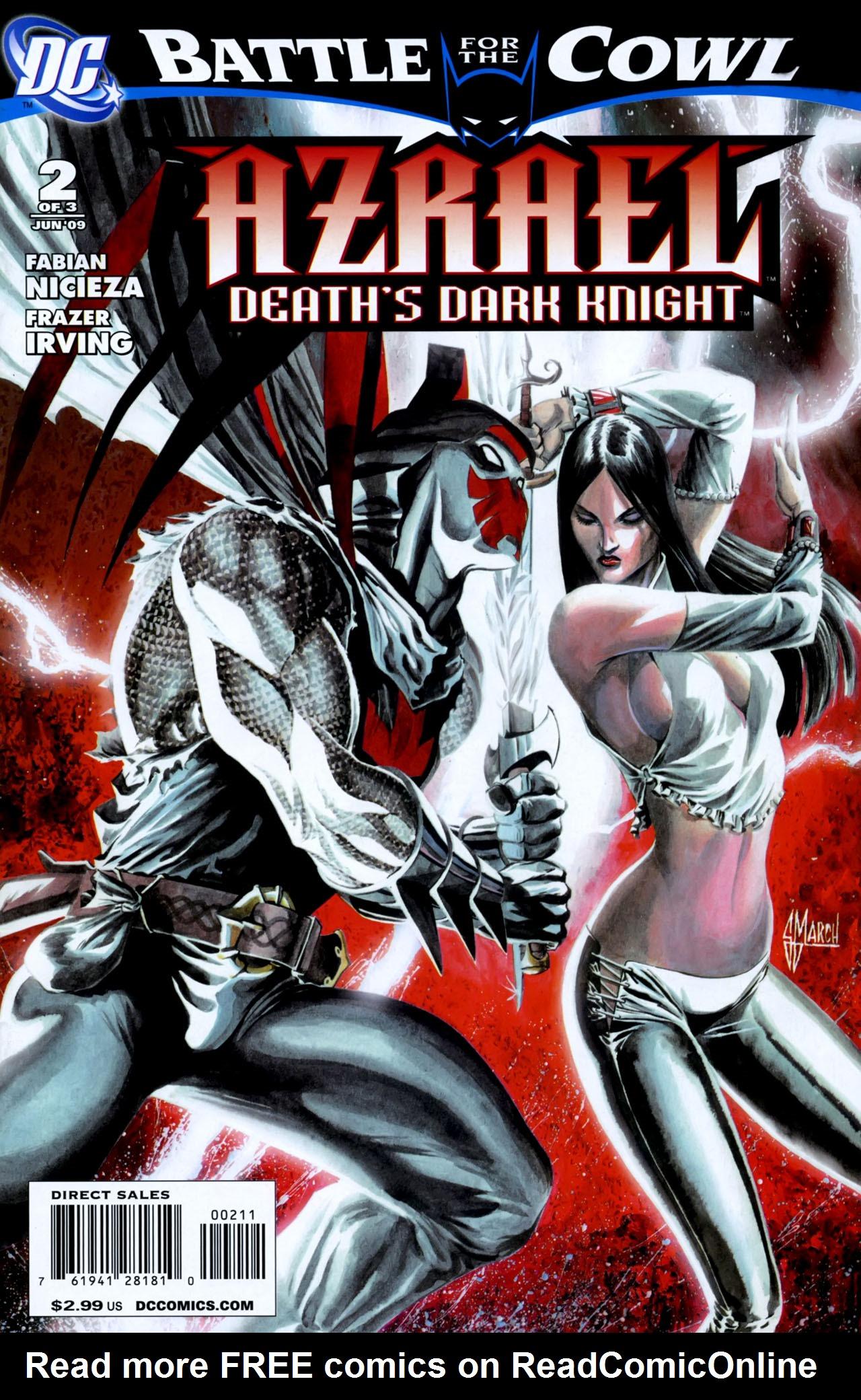 Read online Azrael: Death's Dark Knight comic -  Issue #2 - 1