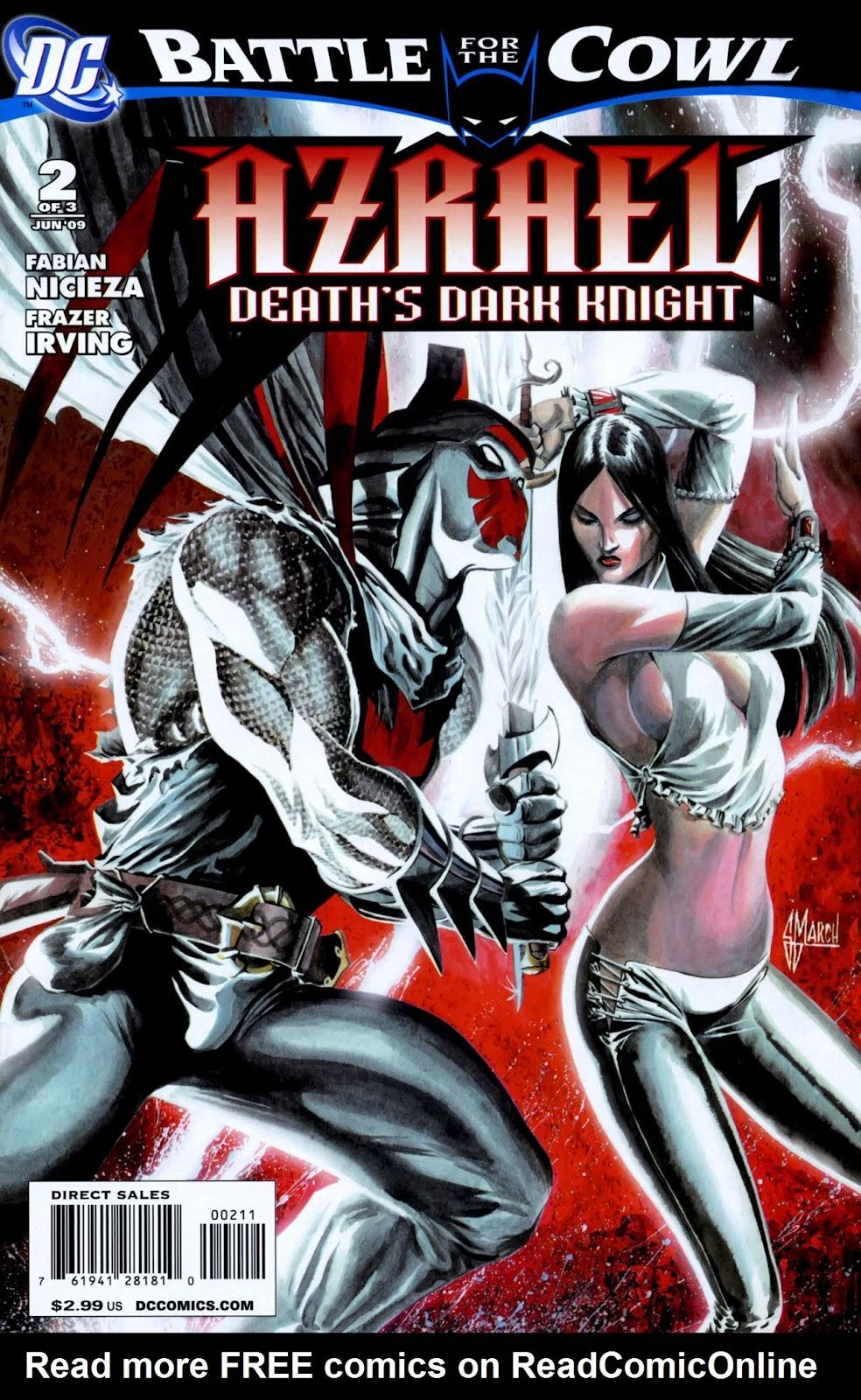Azrael: Death's Dark Knight issue 2 - Page 1