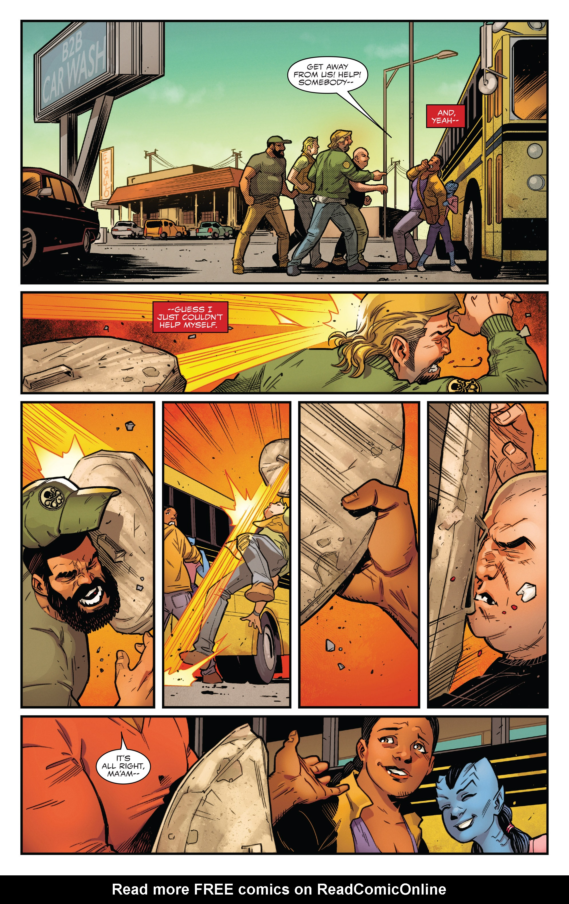 Read online Captain America: Sam Wilson comic -  Issue #22 - 12