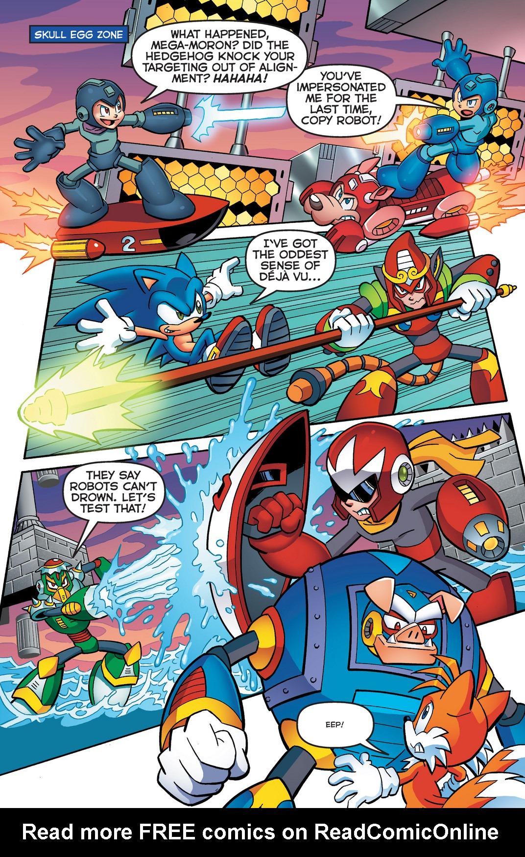 Read online Sonic Mega Man Worlds Collide comic -  Issue # Vol 2 - 15