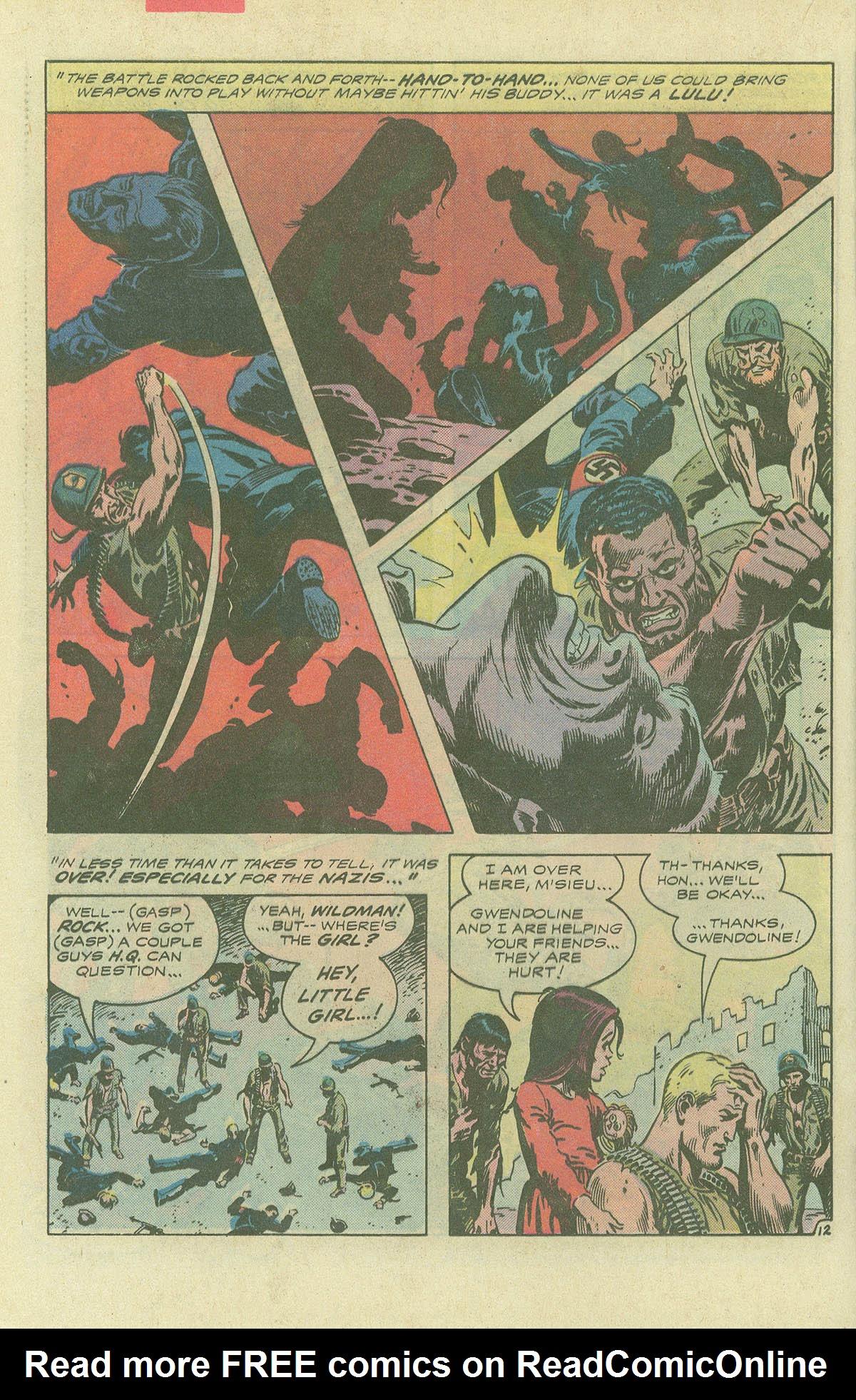 Read online Sgt. Rock comic -  Issue #396 - 15