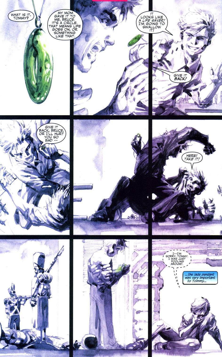 Read online Batman: Hush comic -  Issue #6 - 8